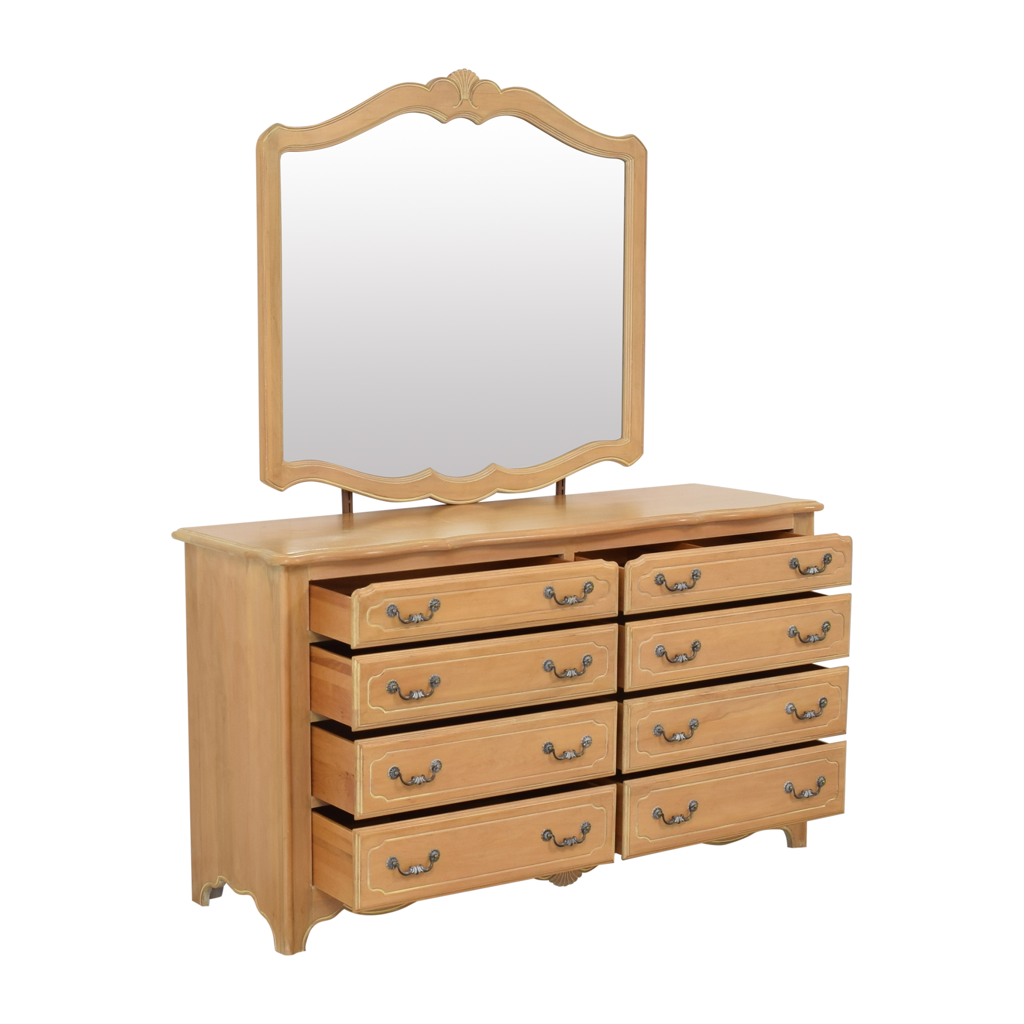 Ethan Allen Ethan Allen Country French Dresser with Mirror for sale