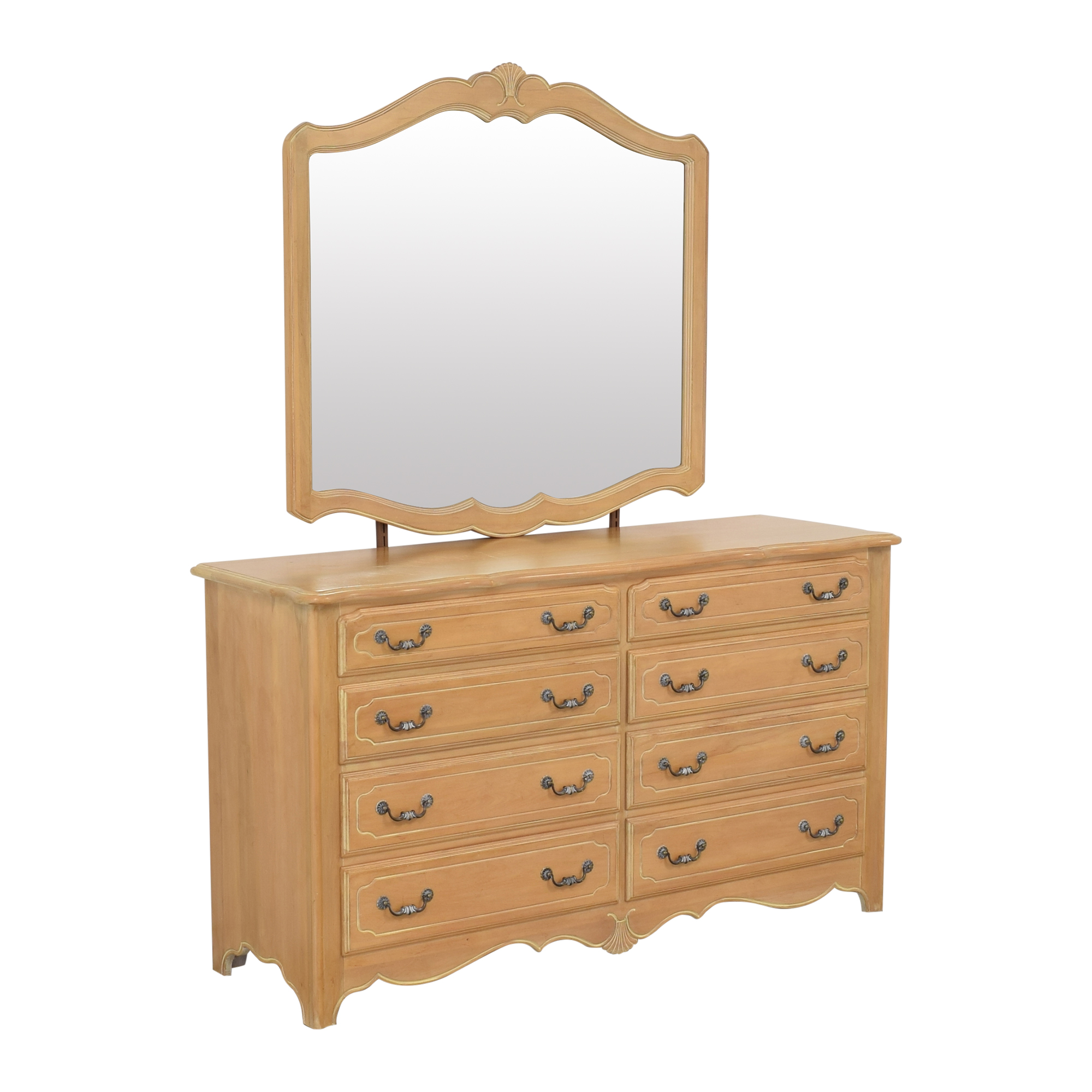 Ethan Allen Ethan Allen Country French Dresser with Mirror used
