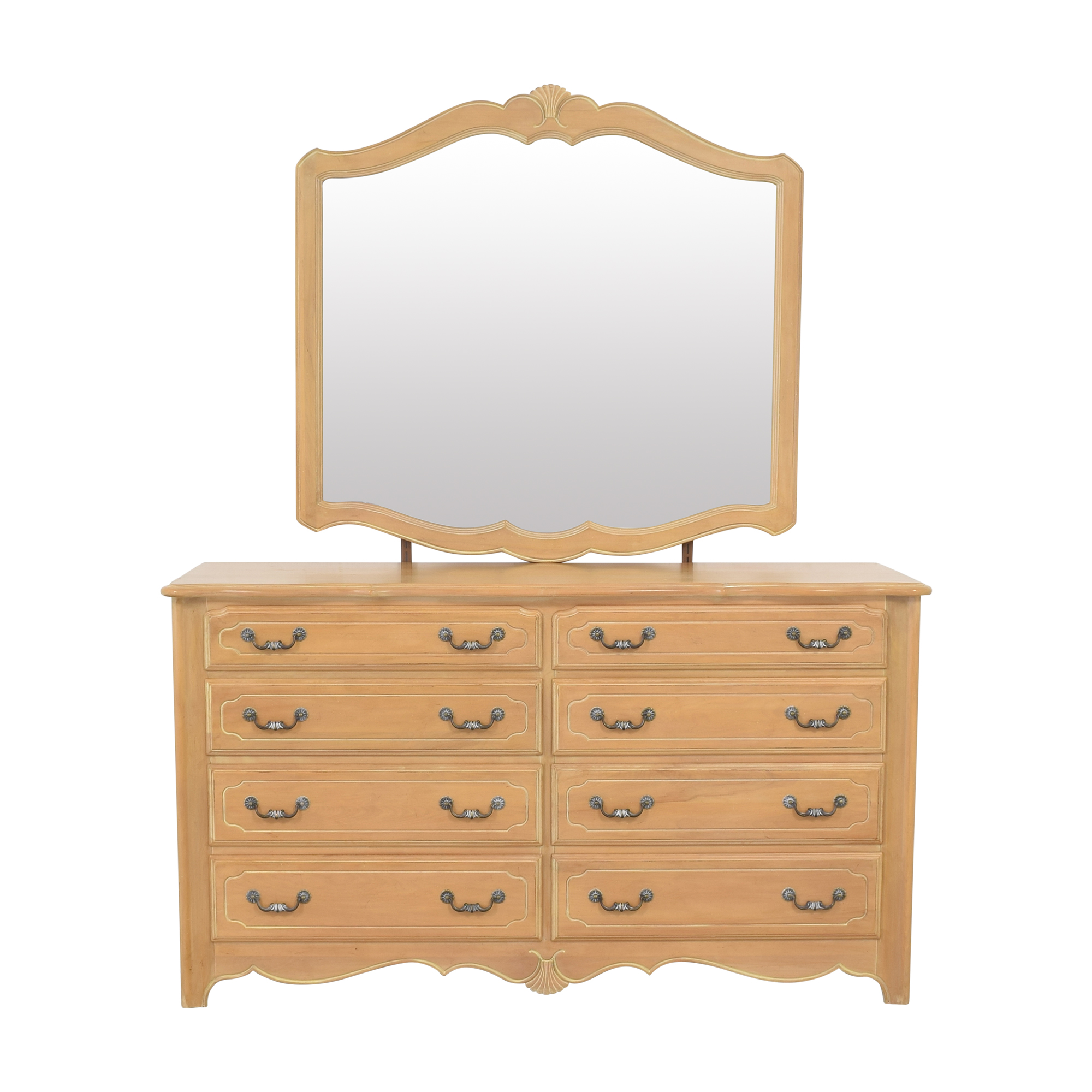 Ethan Allen Ethan Allen Country French Dresser with Mirror nyc
