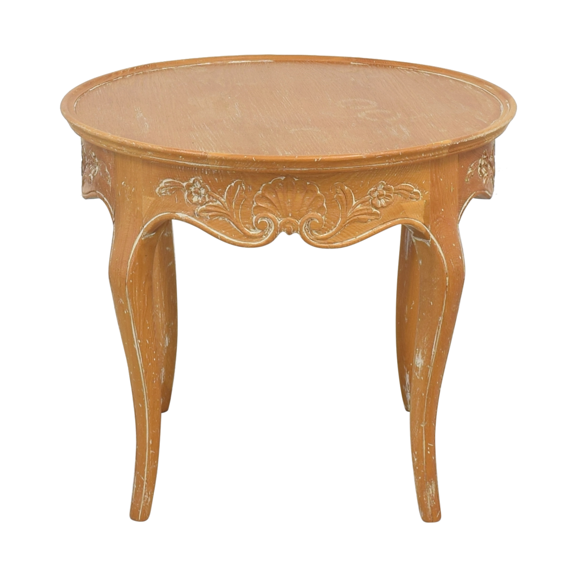 Round Italian Accent Table pa