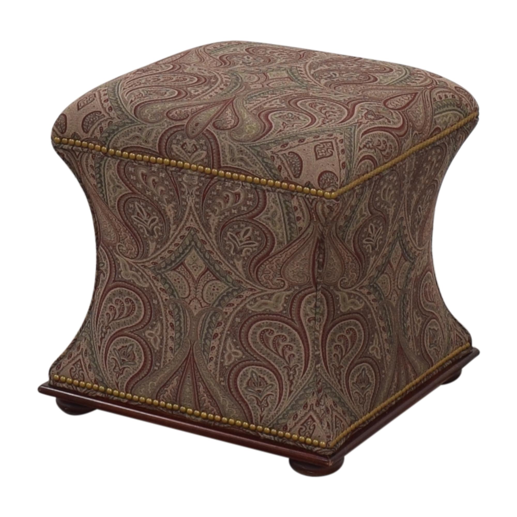 shop Hickory Chair Ottoman Hickory Chair Ottomans