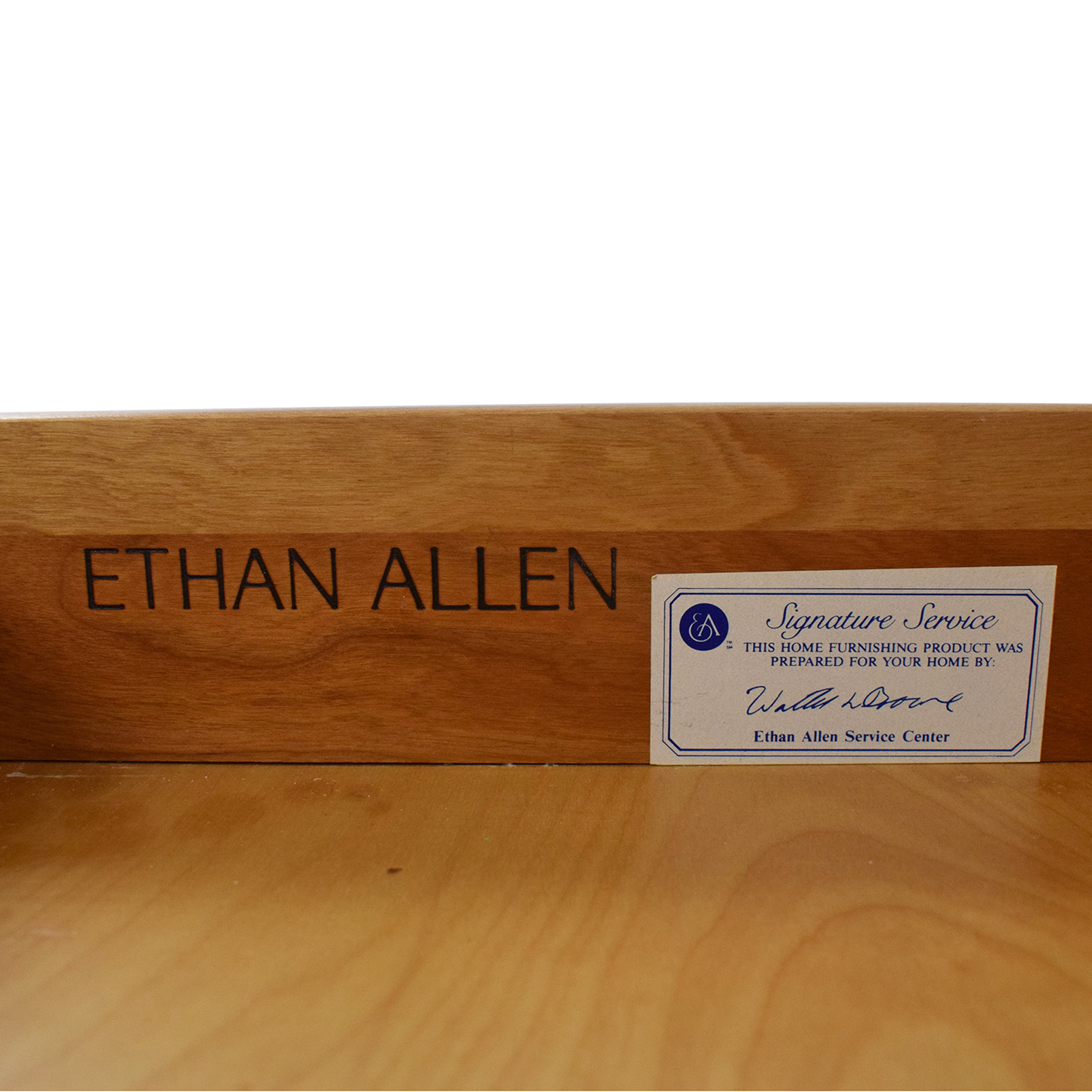 Ethan Allen Ethan Allen Traditional Desk with Drawers Tables