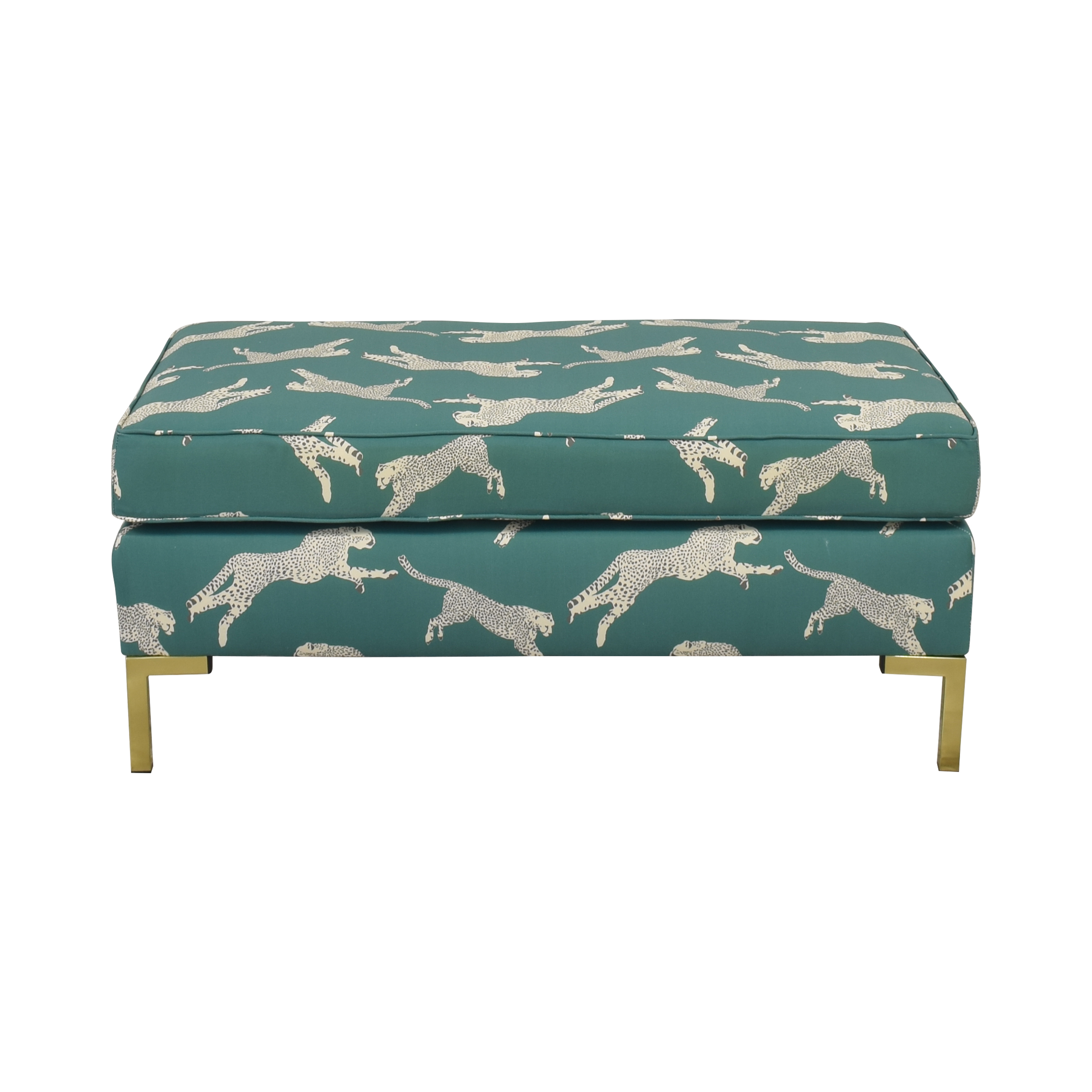 shop The Inside Scalamandre Modern Bench The Inside Ottomans