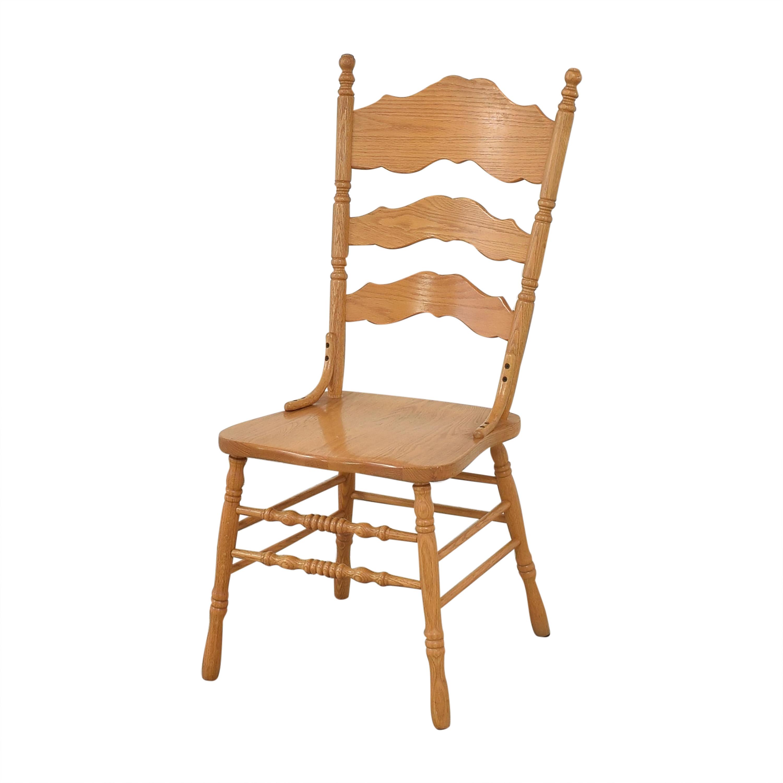Shin-Lee Shin-Lee Ladder Back Dining Chairs price