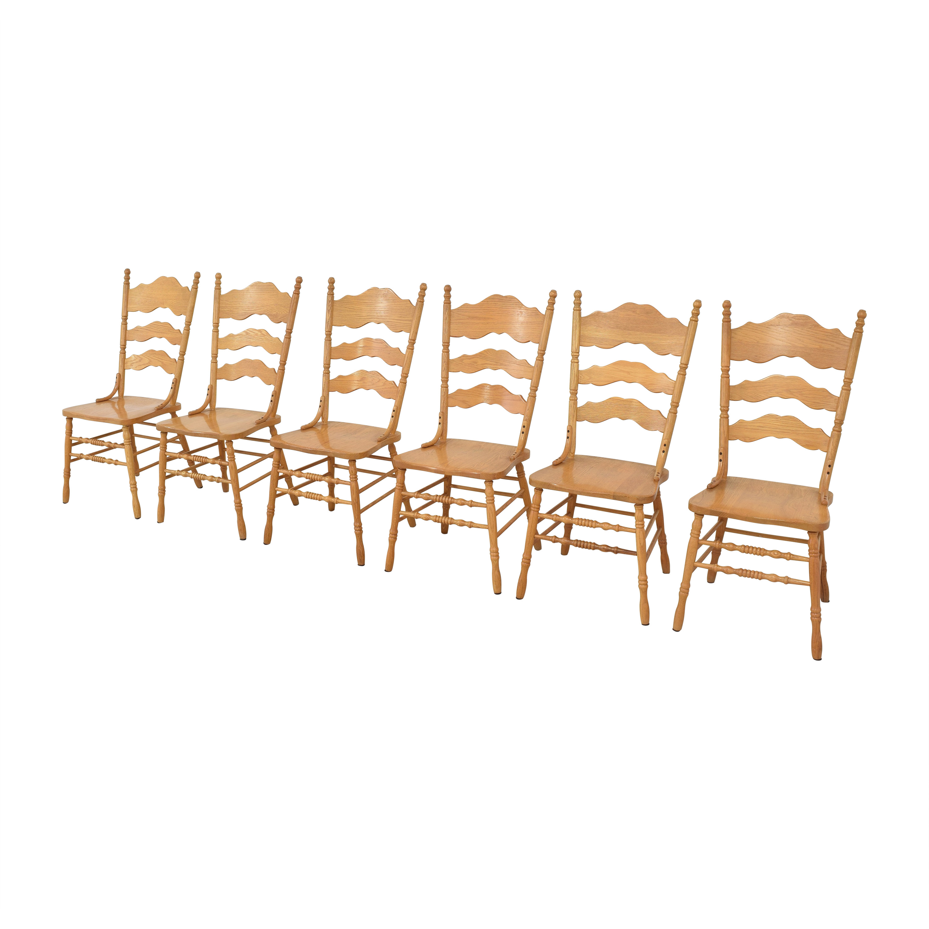 Shin-Lee Shin-Lee Ladder Back Dining Chairs coupon