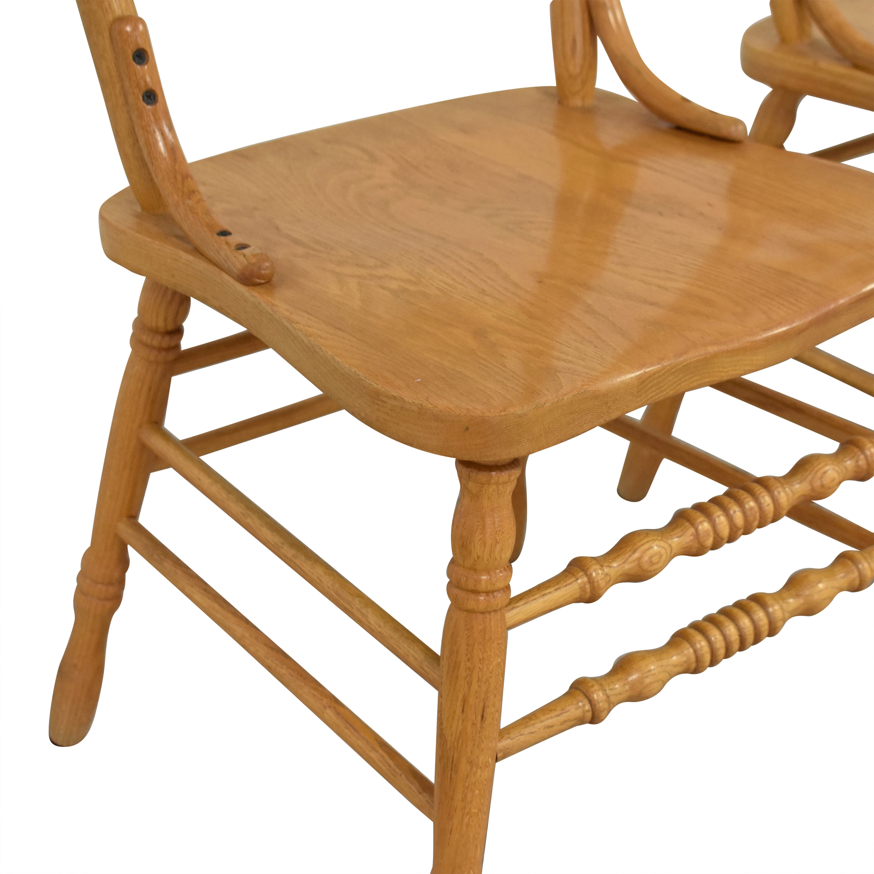 shop Shin-Lee Ladder Back Dining Chairs Shin-Lee Dining Chairs