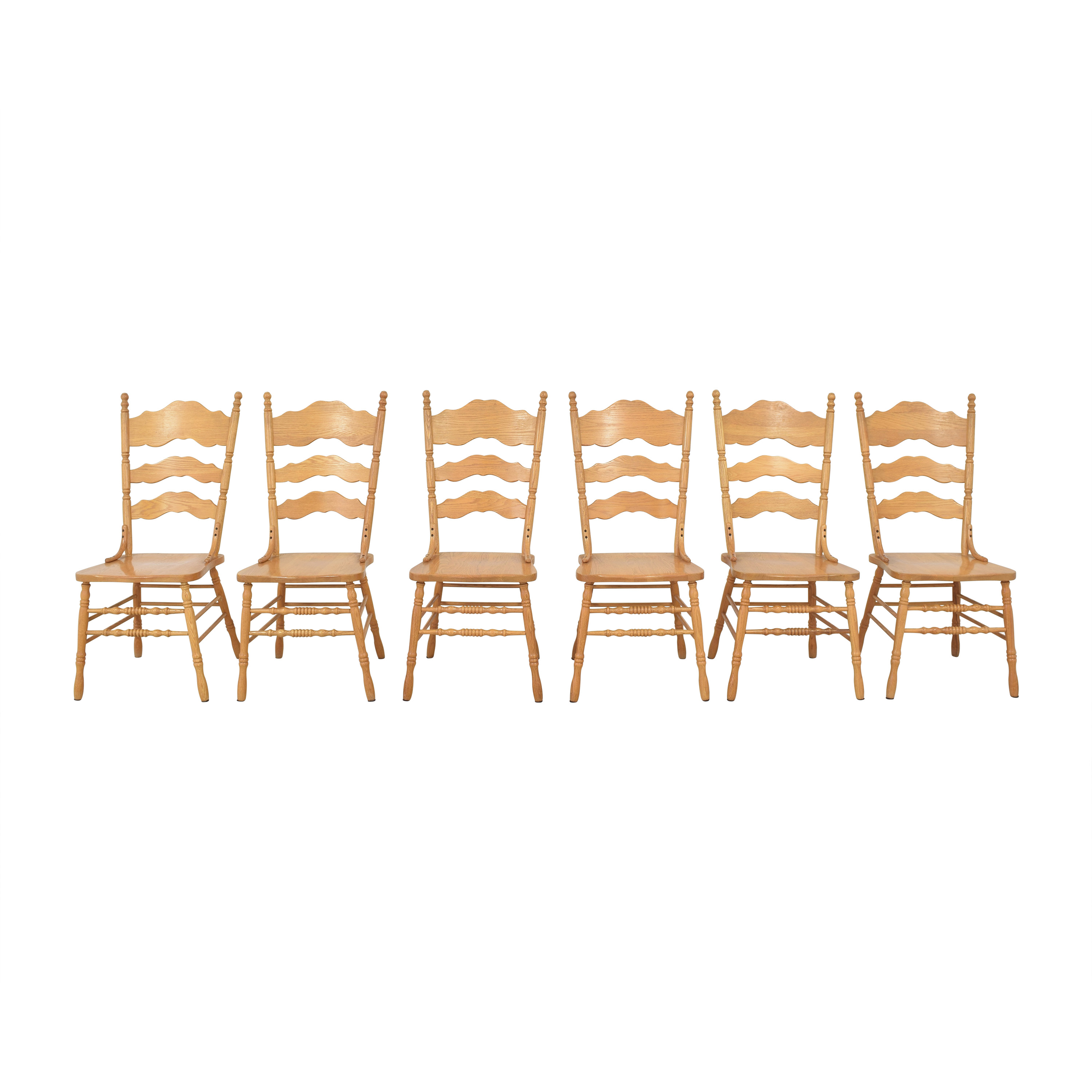 Shin-Lee Ladder Back Dining Chairs Shin-Lee