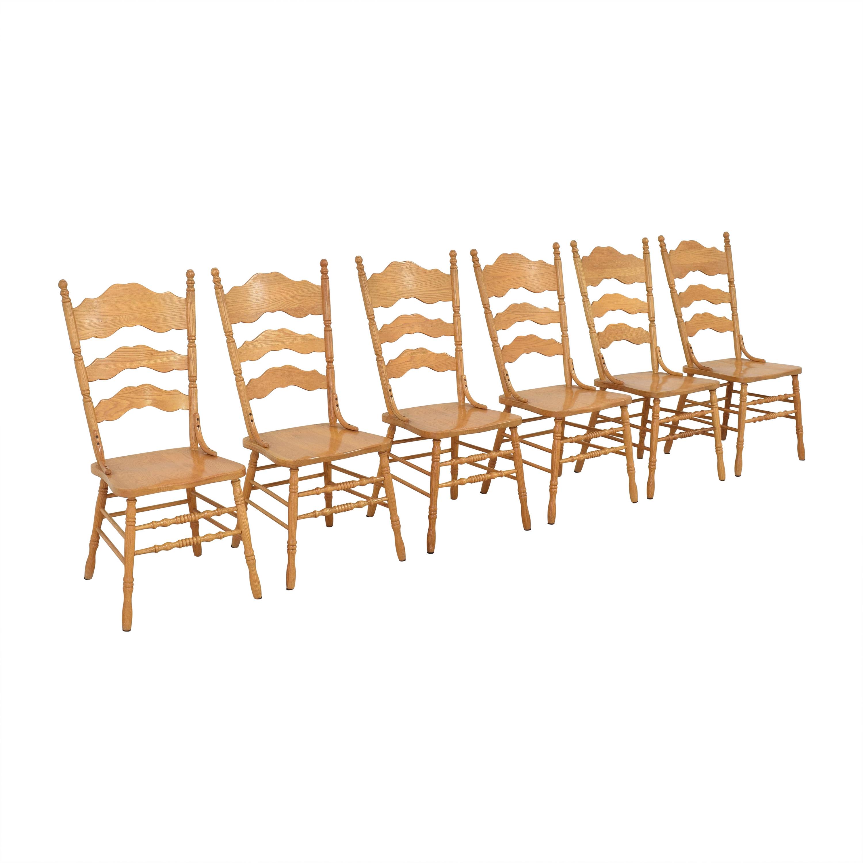 Shin-Lee Ladder Back Dining Chairs Shin-Lee