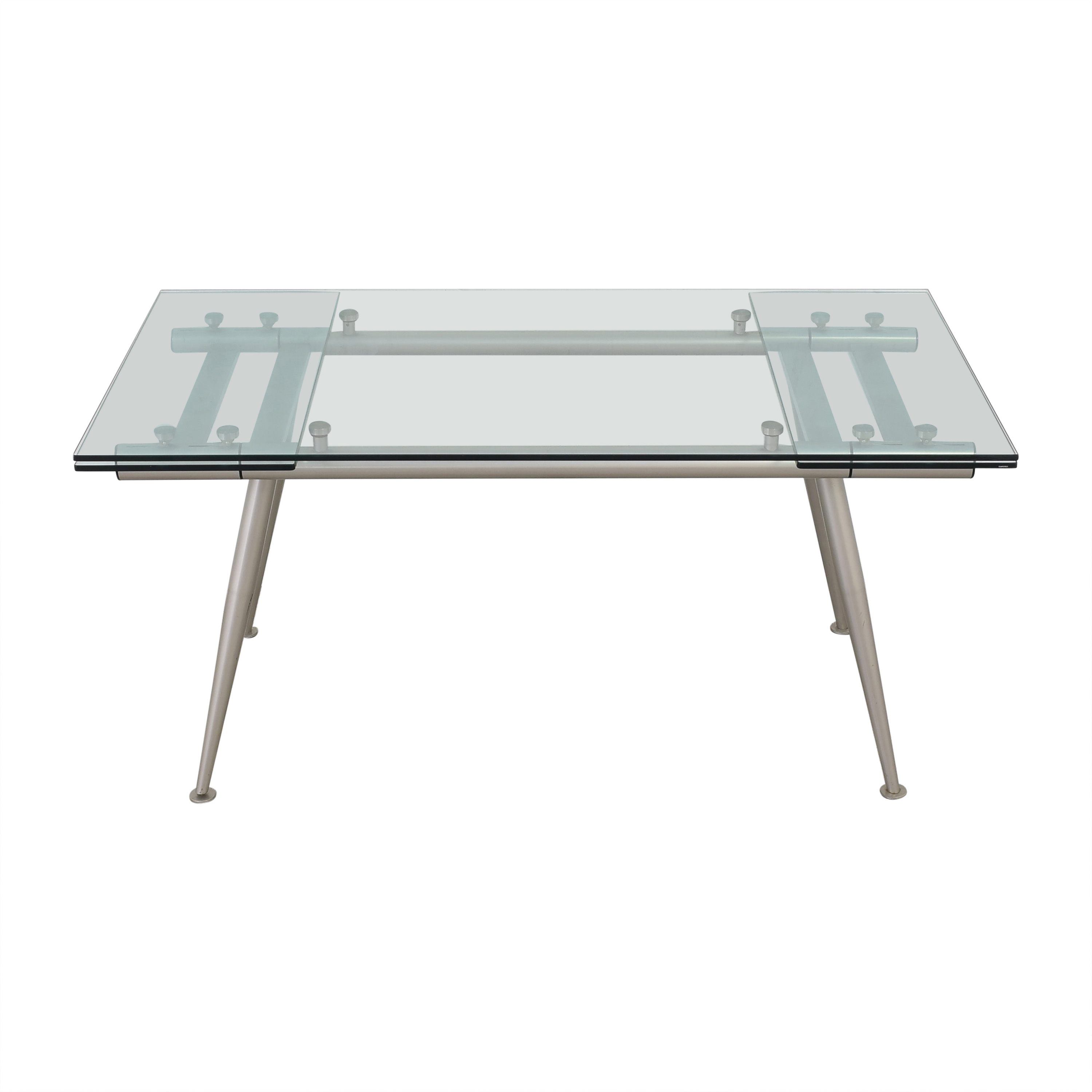shop Calligaris Calligaris Modern Glass Extendable Dining Table online
