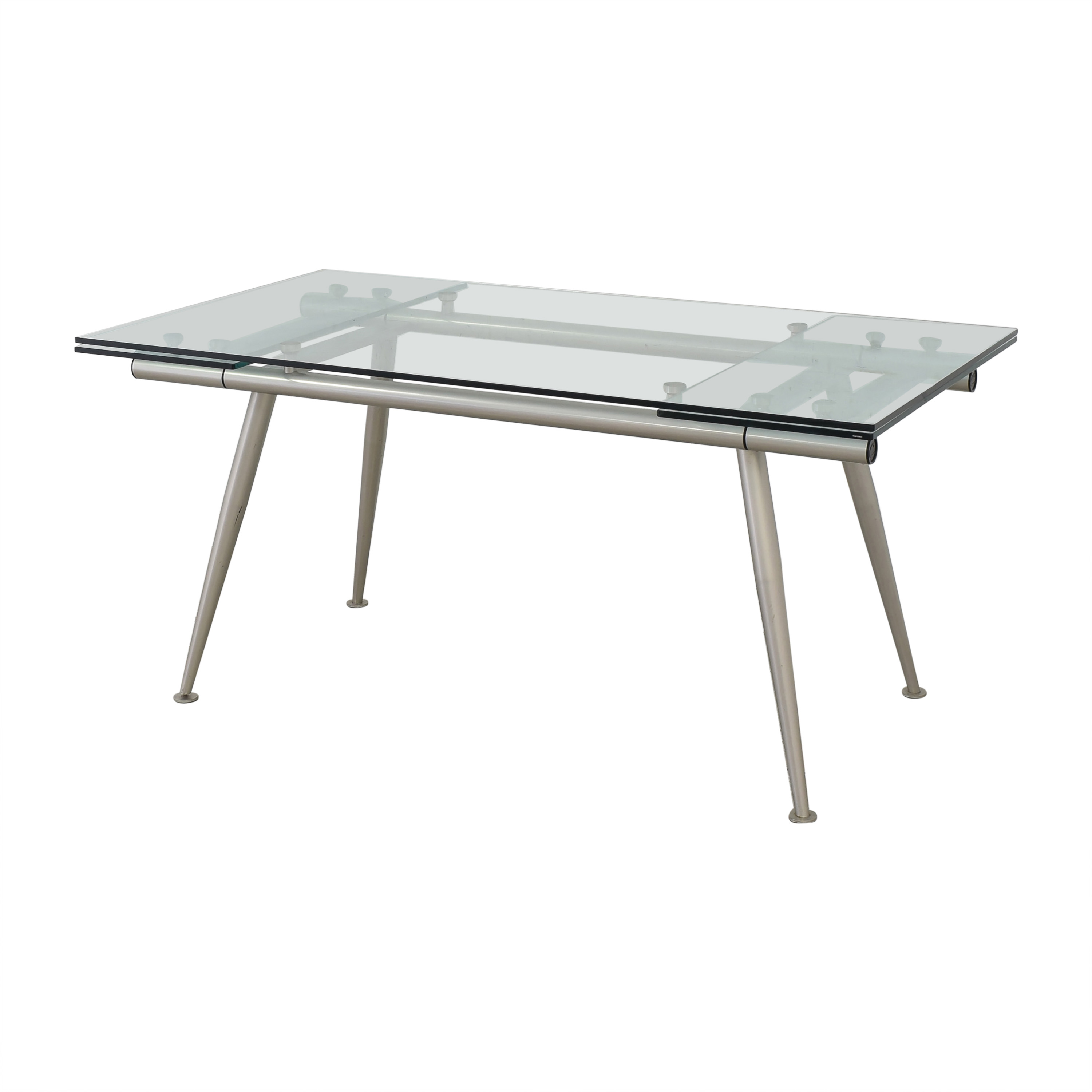 buy Calligaris Modern Glass Extendable Dining Table Calligaris Tables