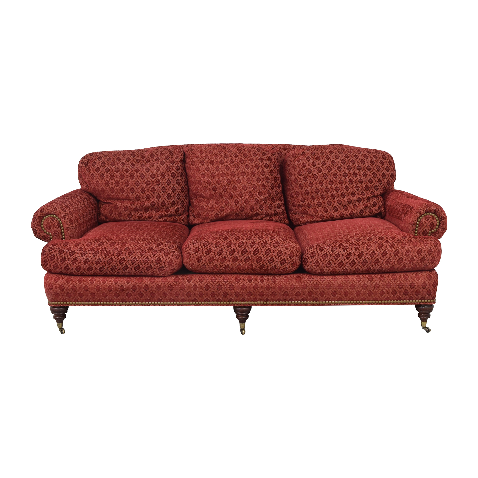 Sherrill Furniture Sherrill Three Cushion Sofa discount