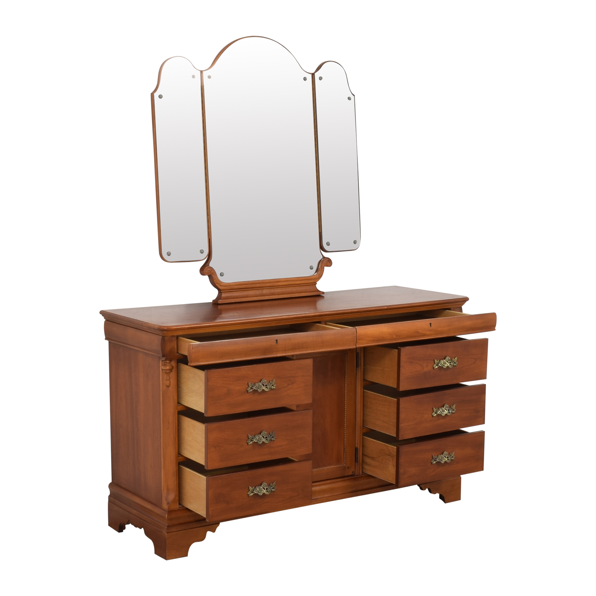 Betsy Cameron for Lexington Dresser with Mirror sale