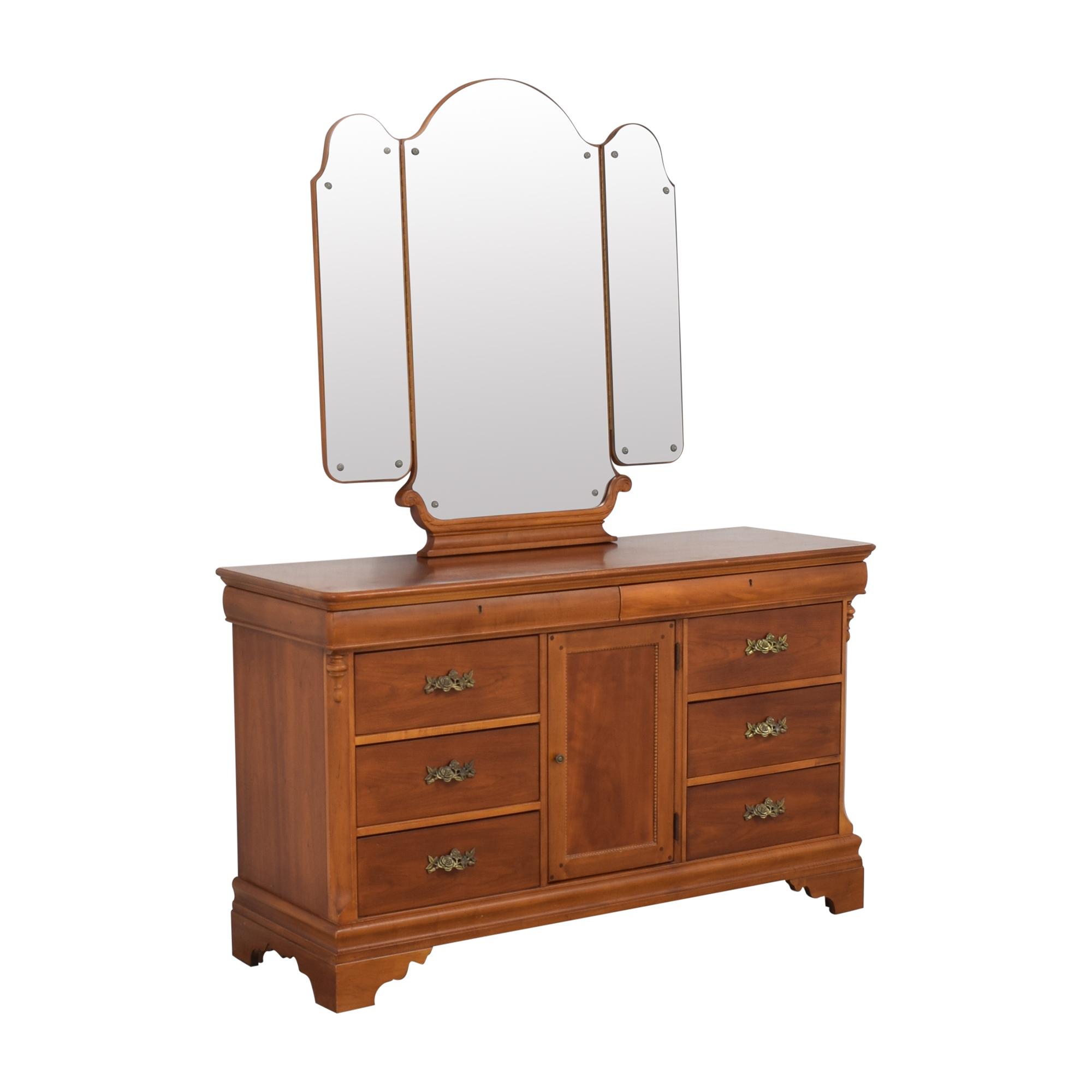 Lexington Furniture Betsy Cameron for Lexington Dresser with Mirror dimensions