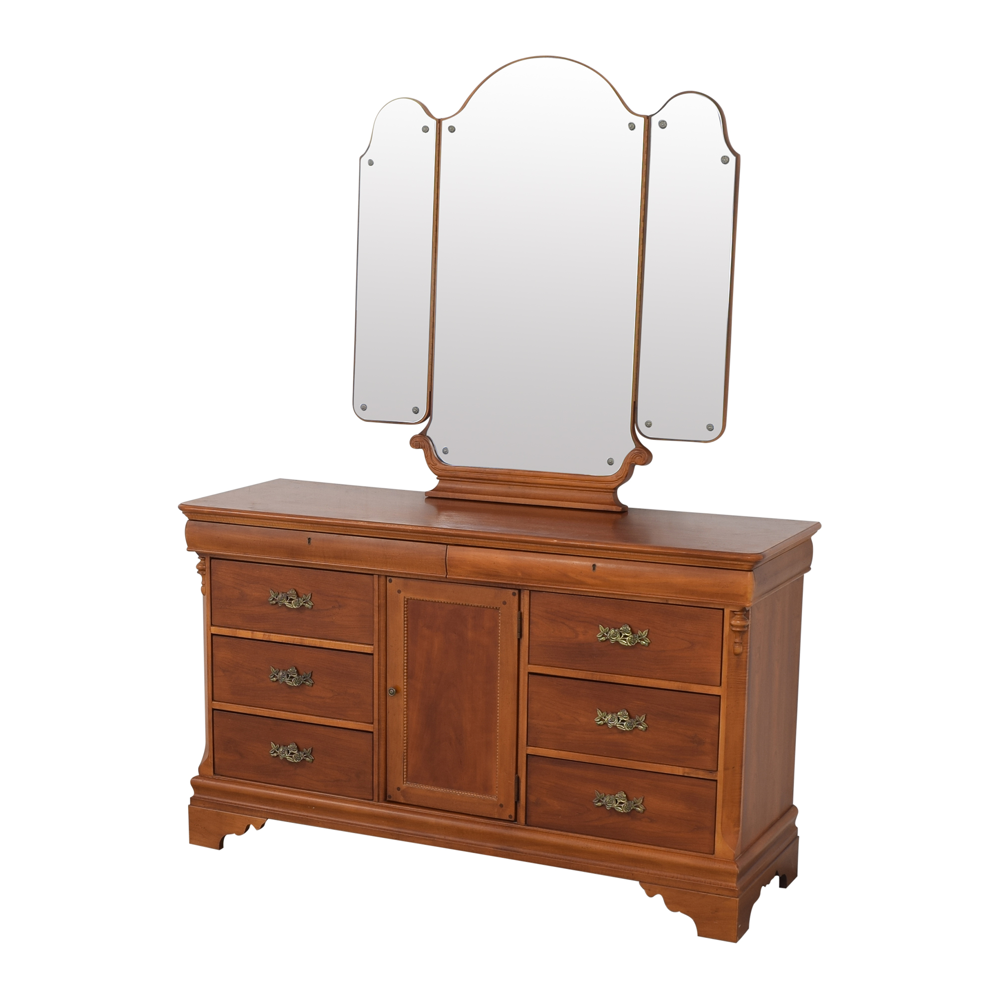 Betsy Cameron for Lexington Dresser with Mirror / Dressers