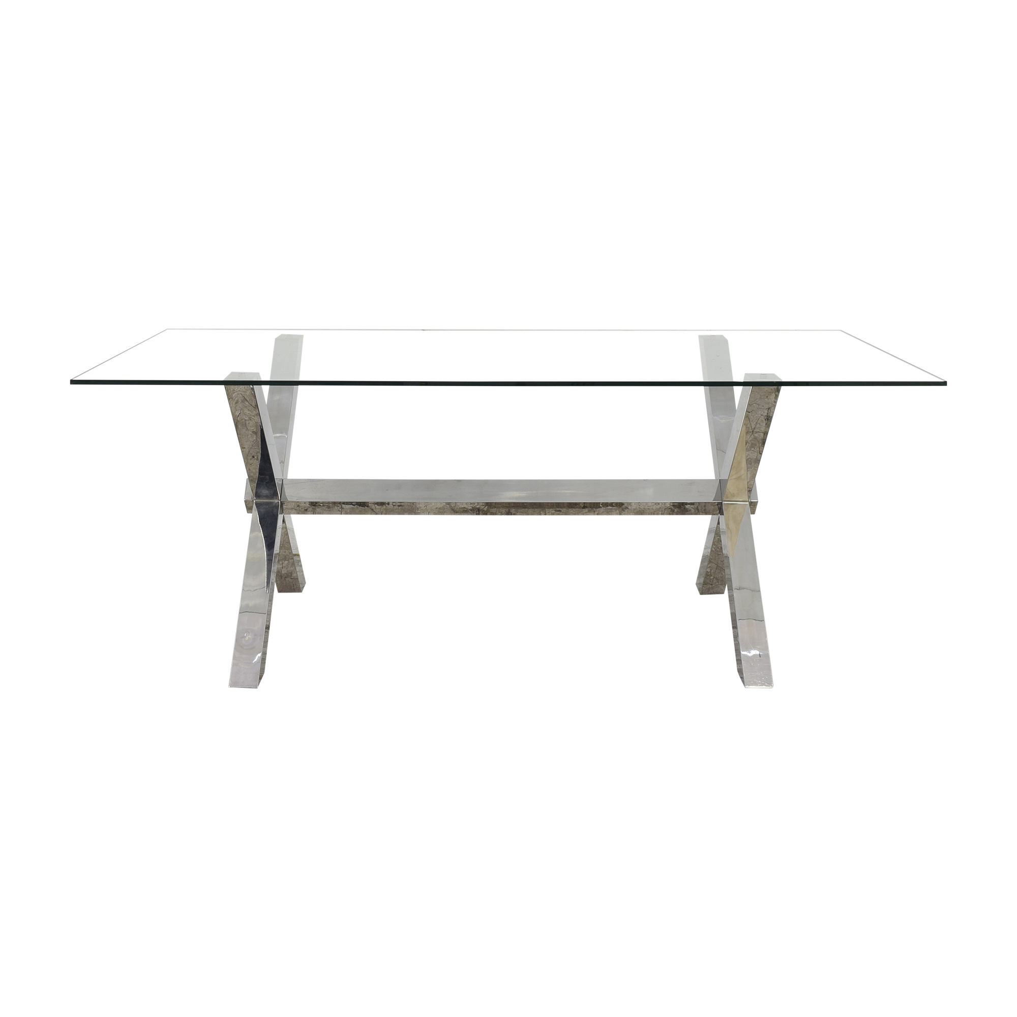 Z Gallerie Z Gallerie Axis Dining Table pa