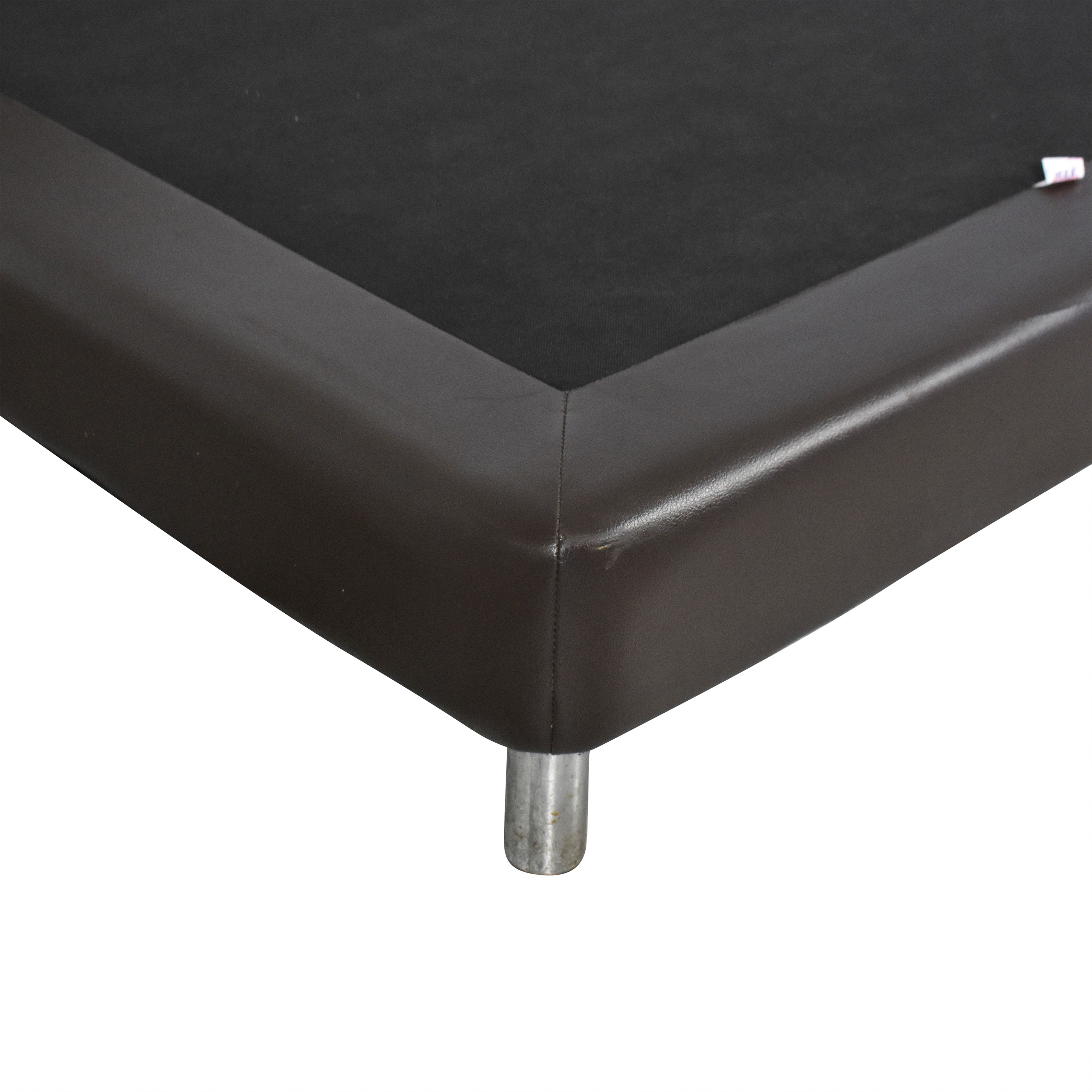 shop Twin Bed with Padded Headboard