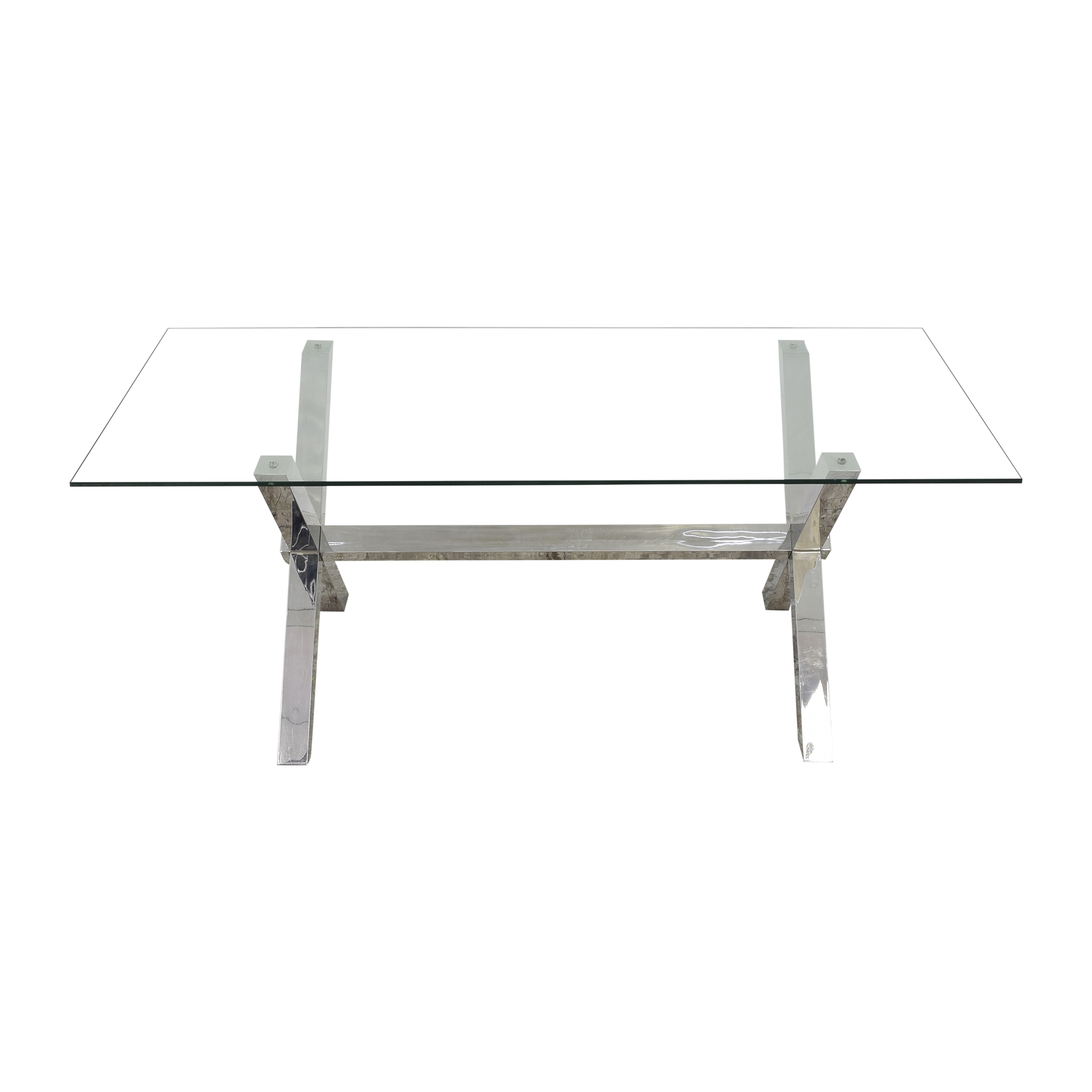 Z Gallerie Axis Dining Table sale