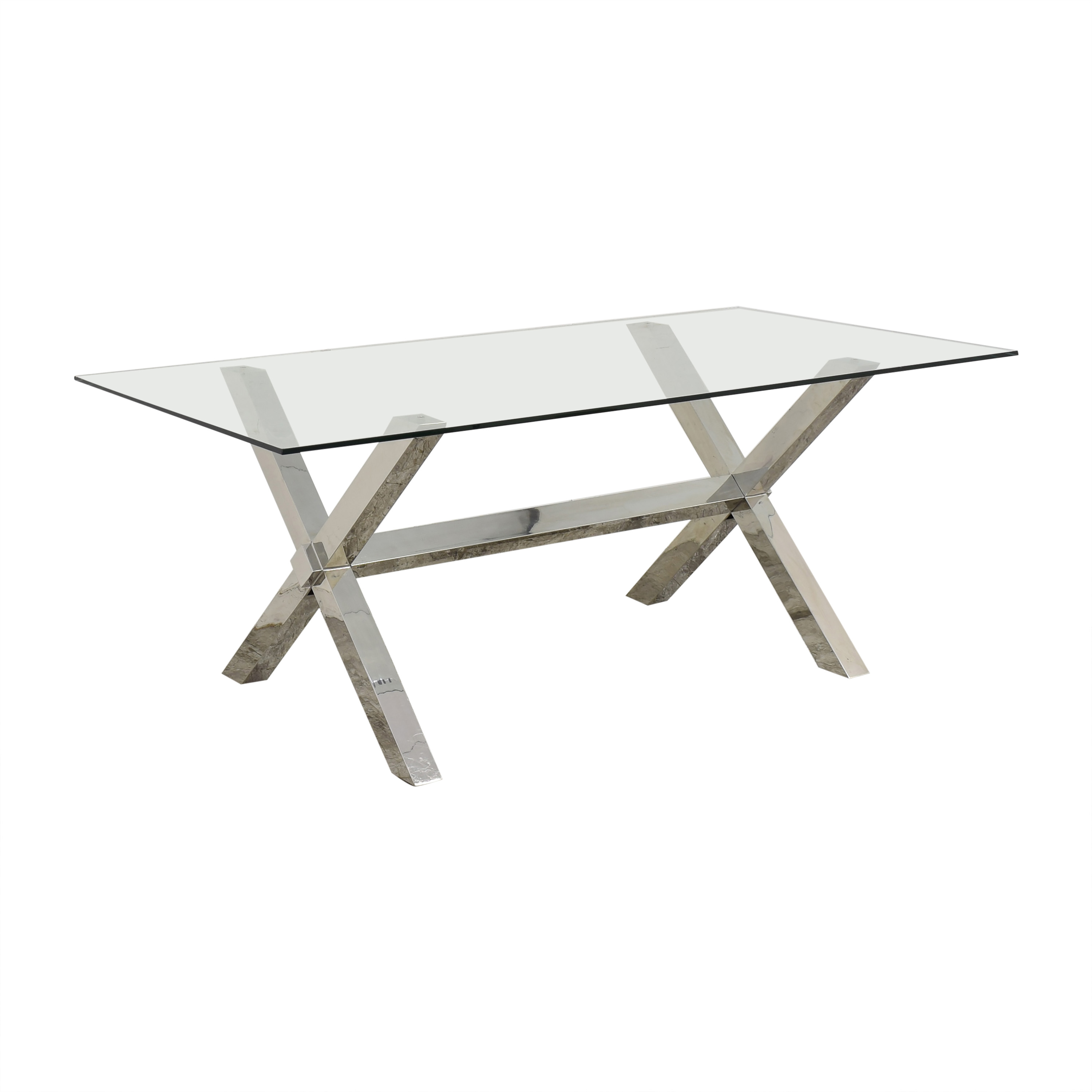 Z Gallerie Z-Gallerie Axis Dining Table second hand