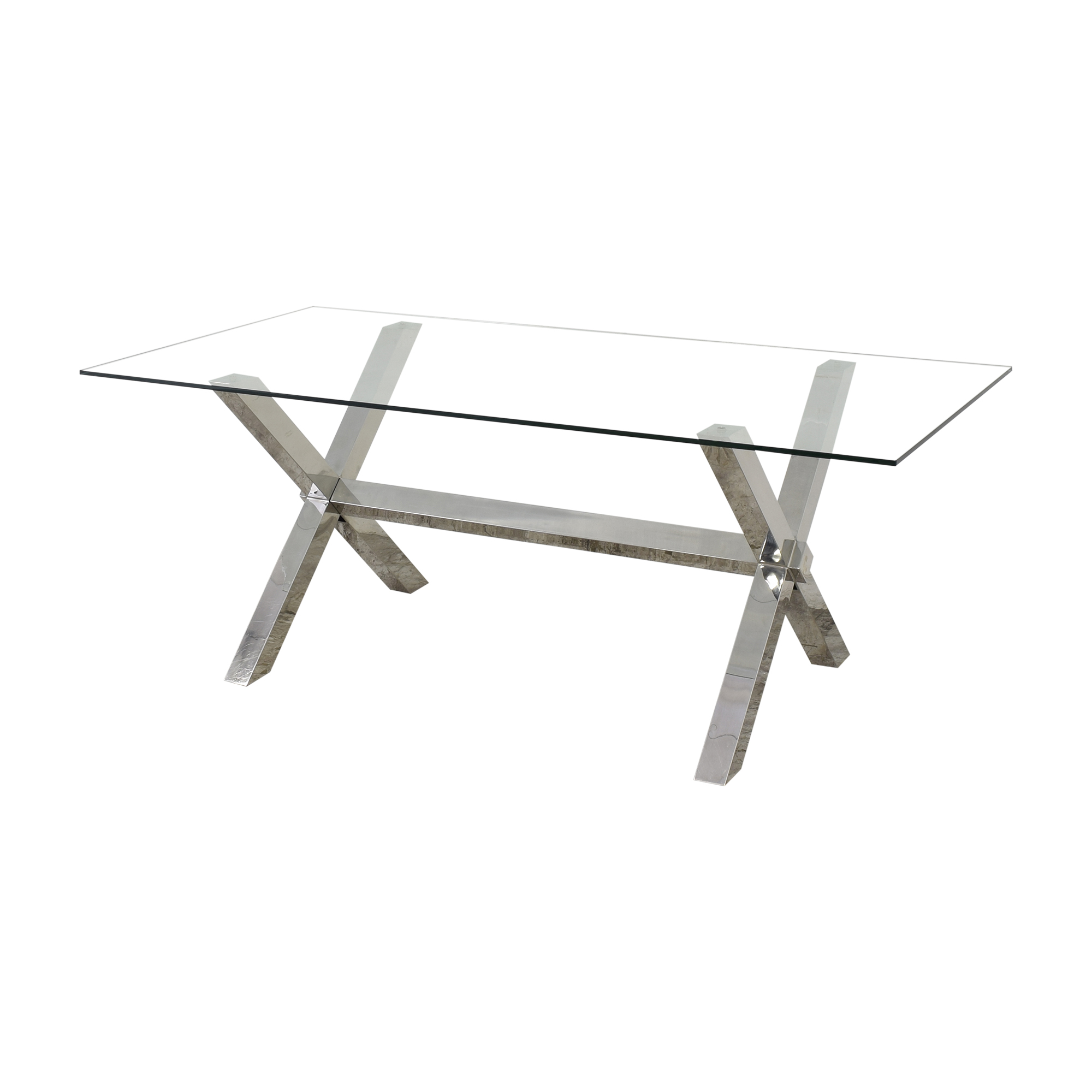 Z Gallerie Z Gallerie Axis Dining Table dimensions