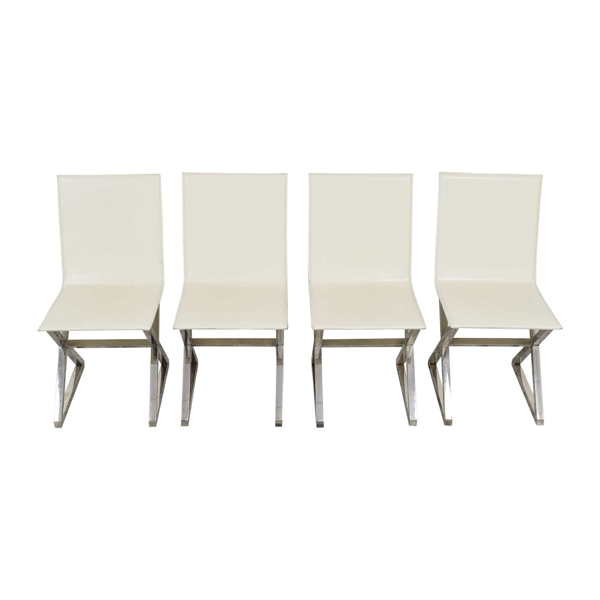 Z Gallerie Z Gallerie Axis Dining Chairs pa