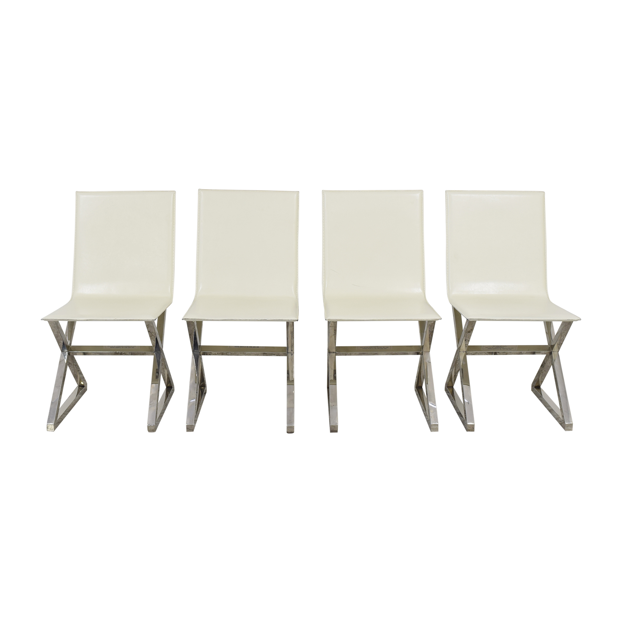 Z Gallerie Z Gallerie Axis Dining Chairs used