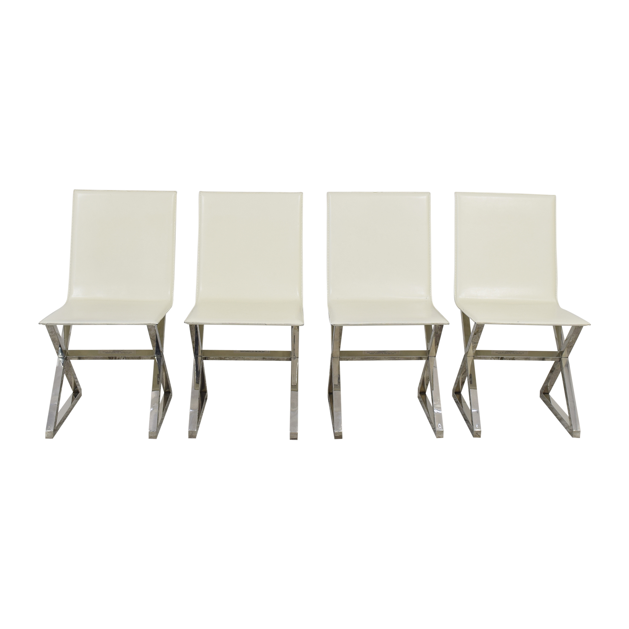 Z Gallerie Axis Dining Chairs sale