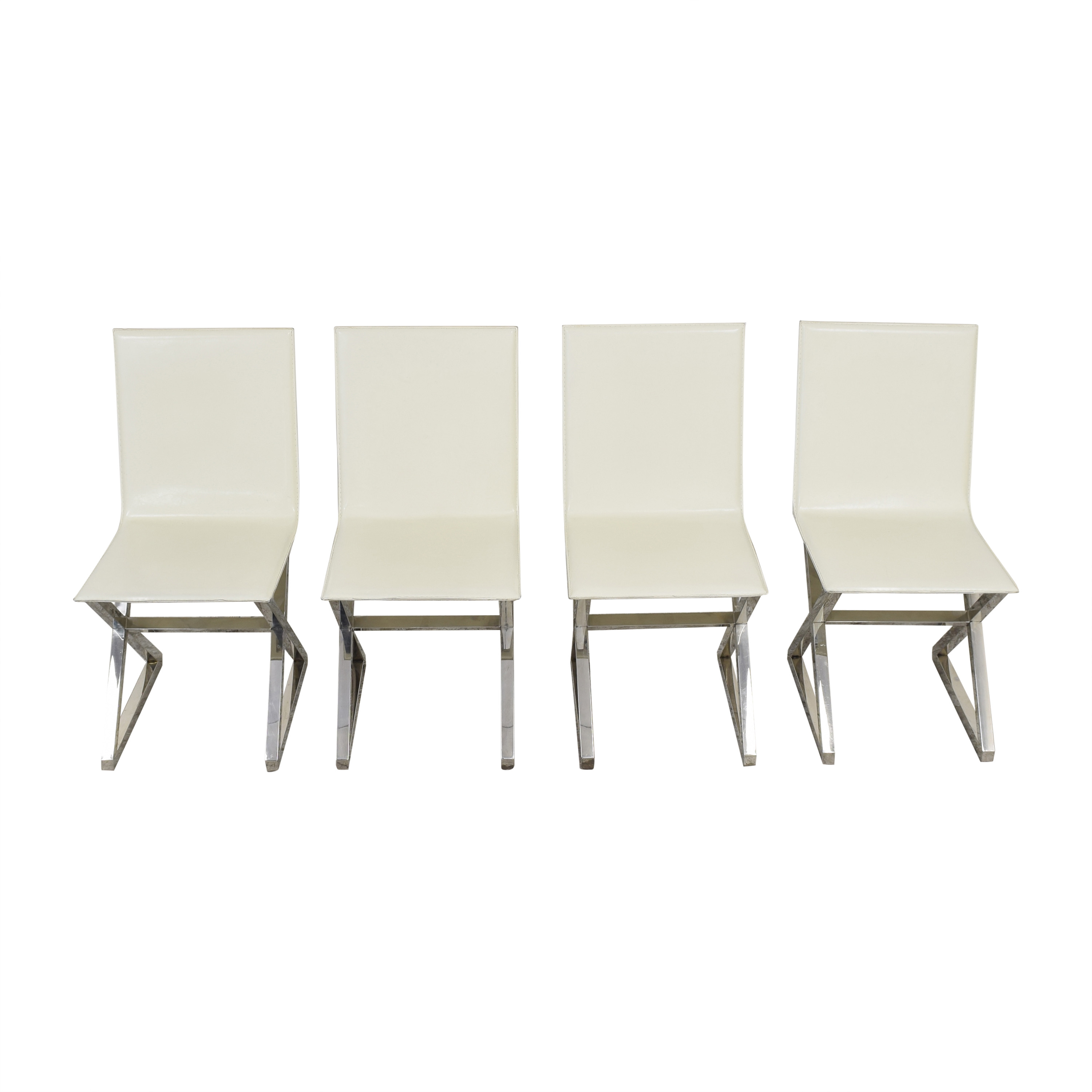 Z Gallerie Z Gallerie Axis Dining Chairs second hand