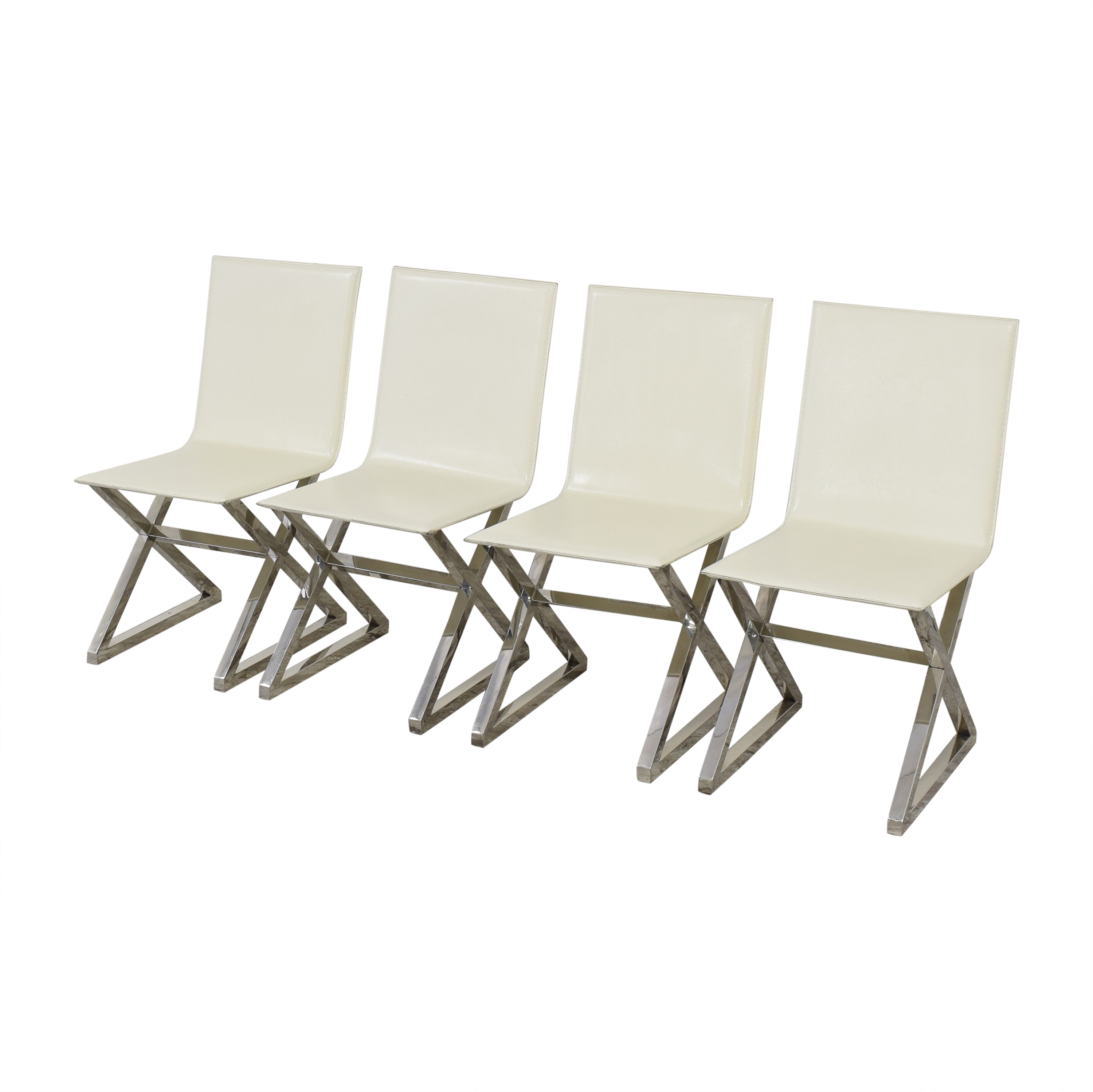 Z Gallerie Z Gallerie Axis Dining Chairs nj
