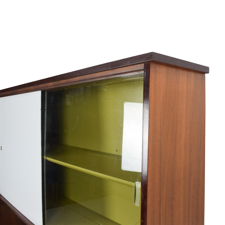 Unknown Brand Vintage Mid Century Sideboard Credenza Cabinet Storage