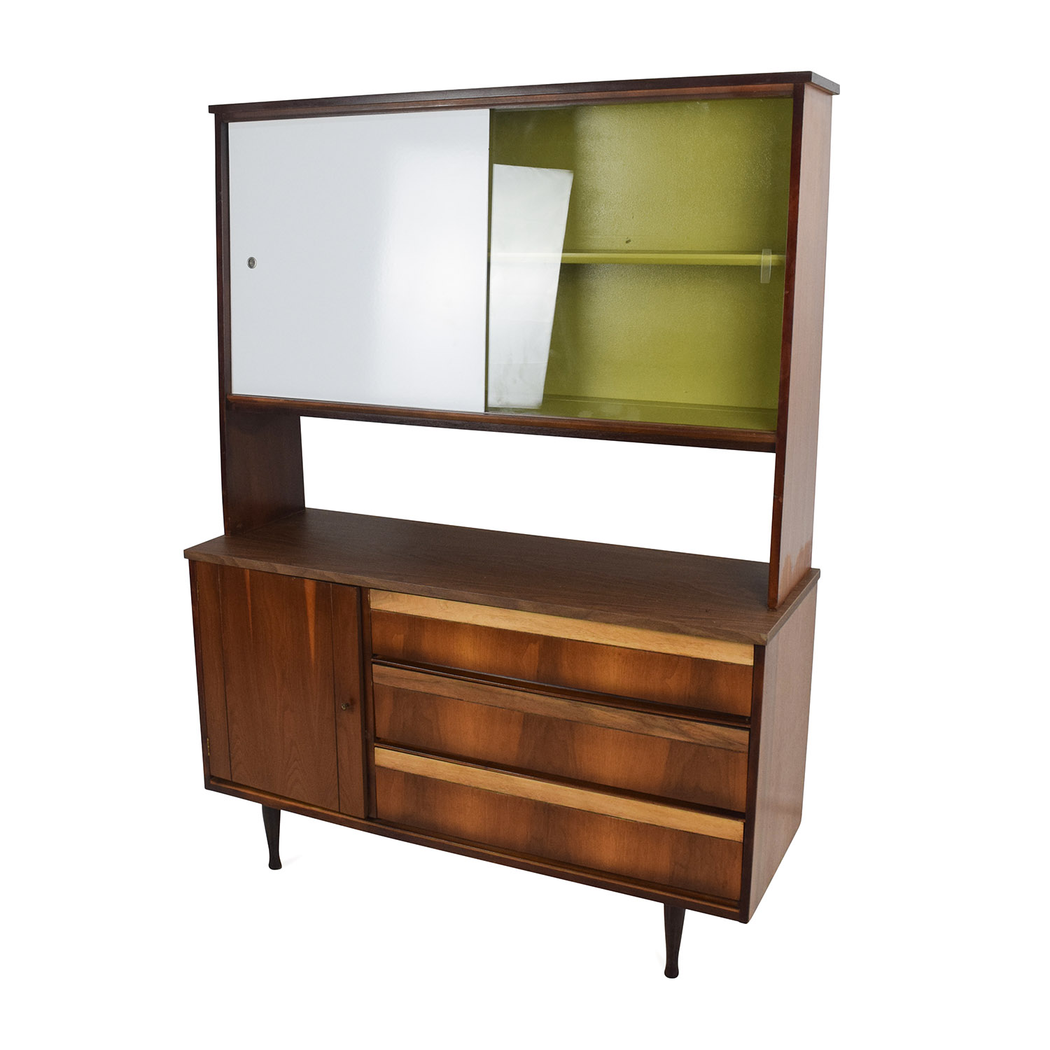 Mid Century Credenza For Sale: Unknown Brand Vintage Mid Century Sideboard