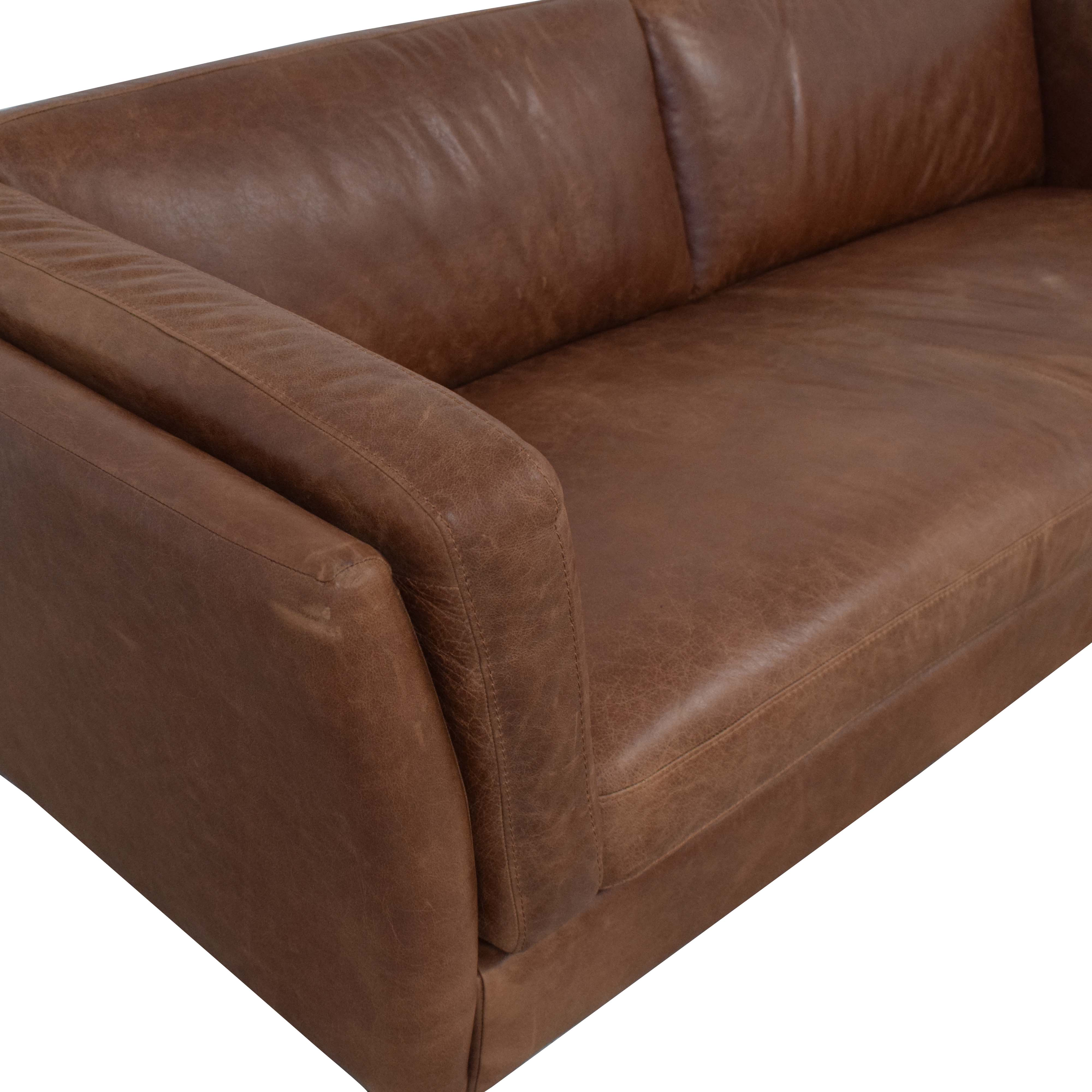 shop Bench Cushion Sofa  Sofas