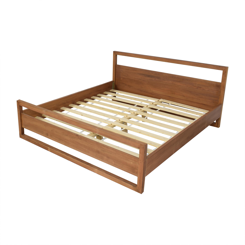 Modern Super King Bed on sale