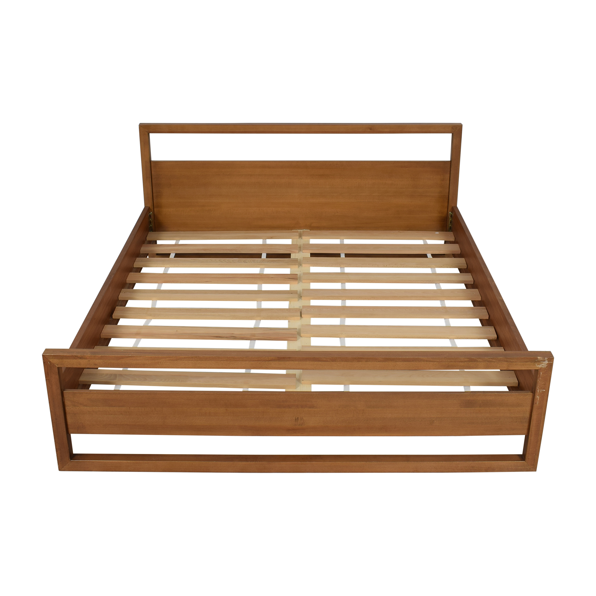 Modern Super King Bed brown