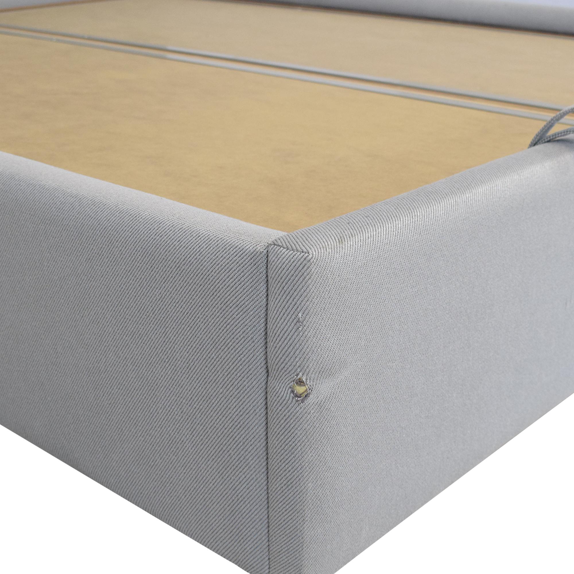 Upholstered Storage Queen Bed / Beds