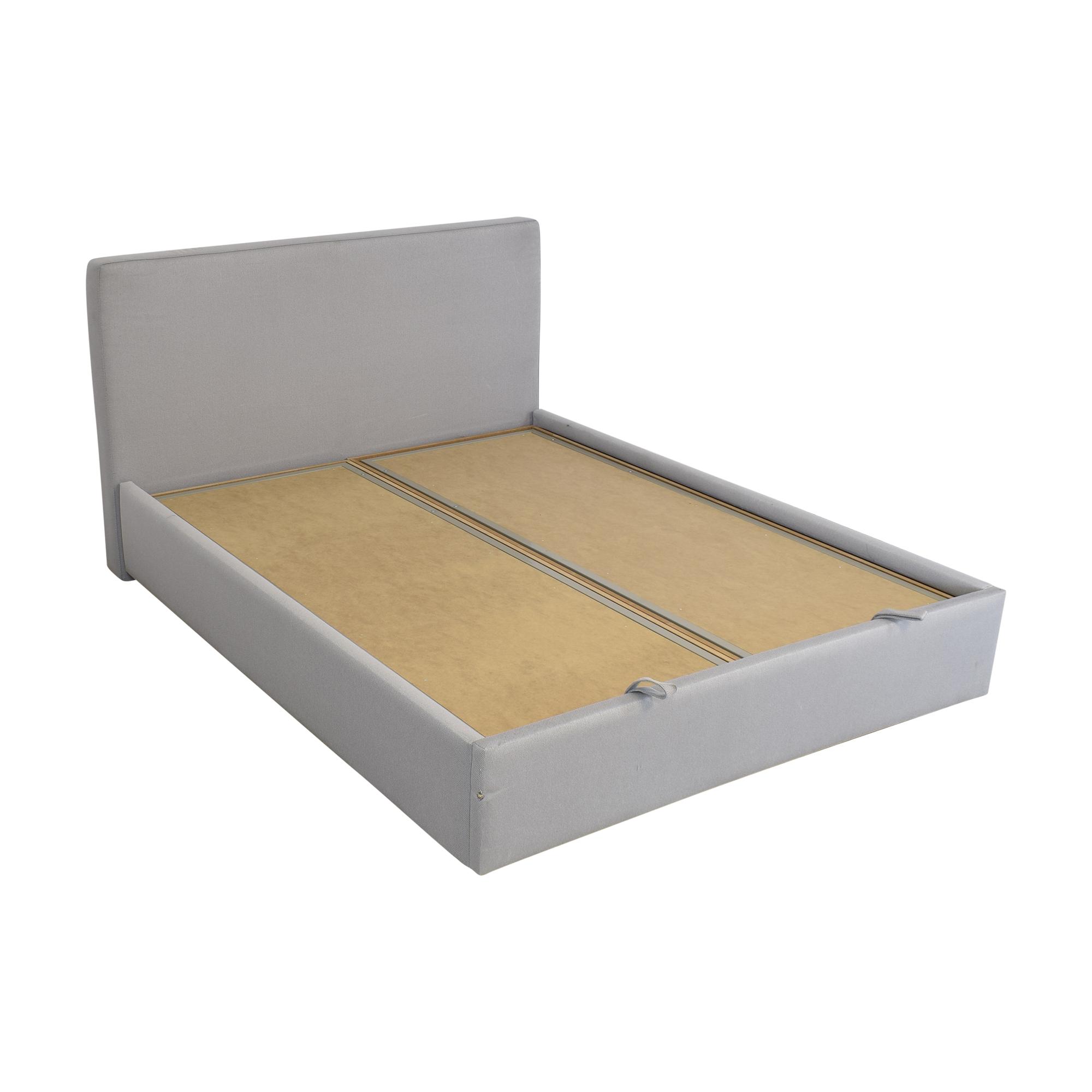 Upholstered Storage Queen Bed / Bed Frames