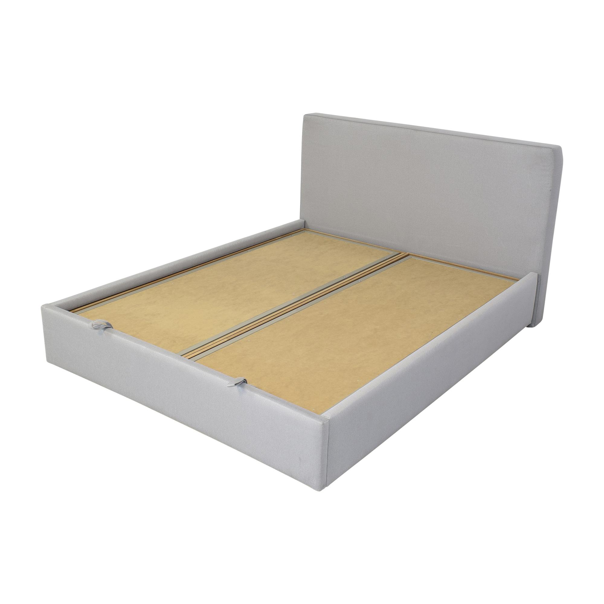 Upholstered Storage Queen Bed