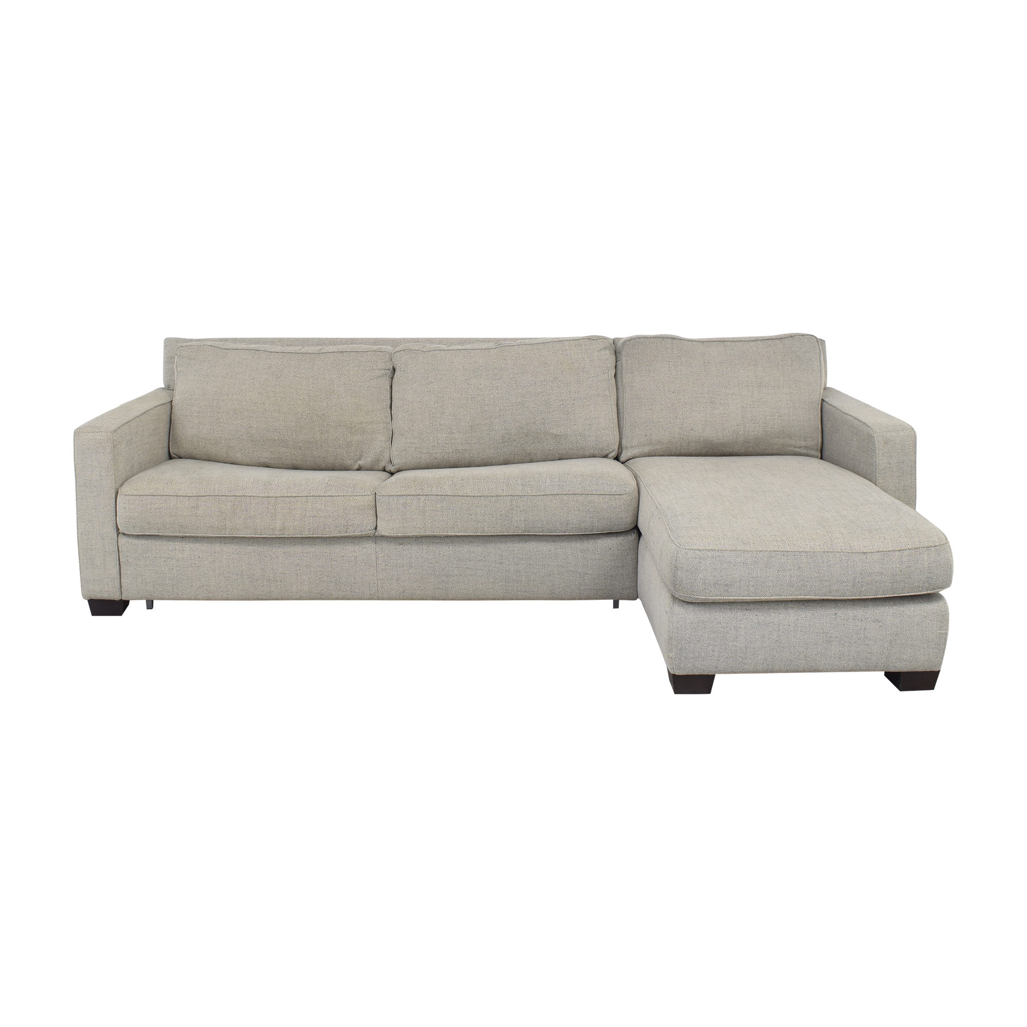 West Elm Henry 2-Piece Full Sleeper Sectional with Storage / Sofas