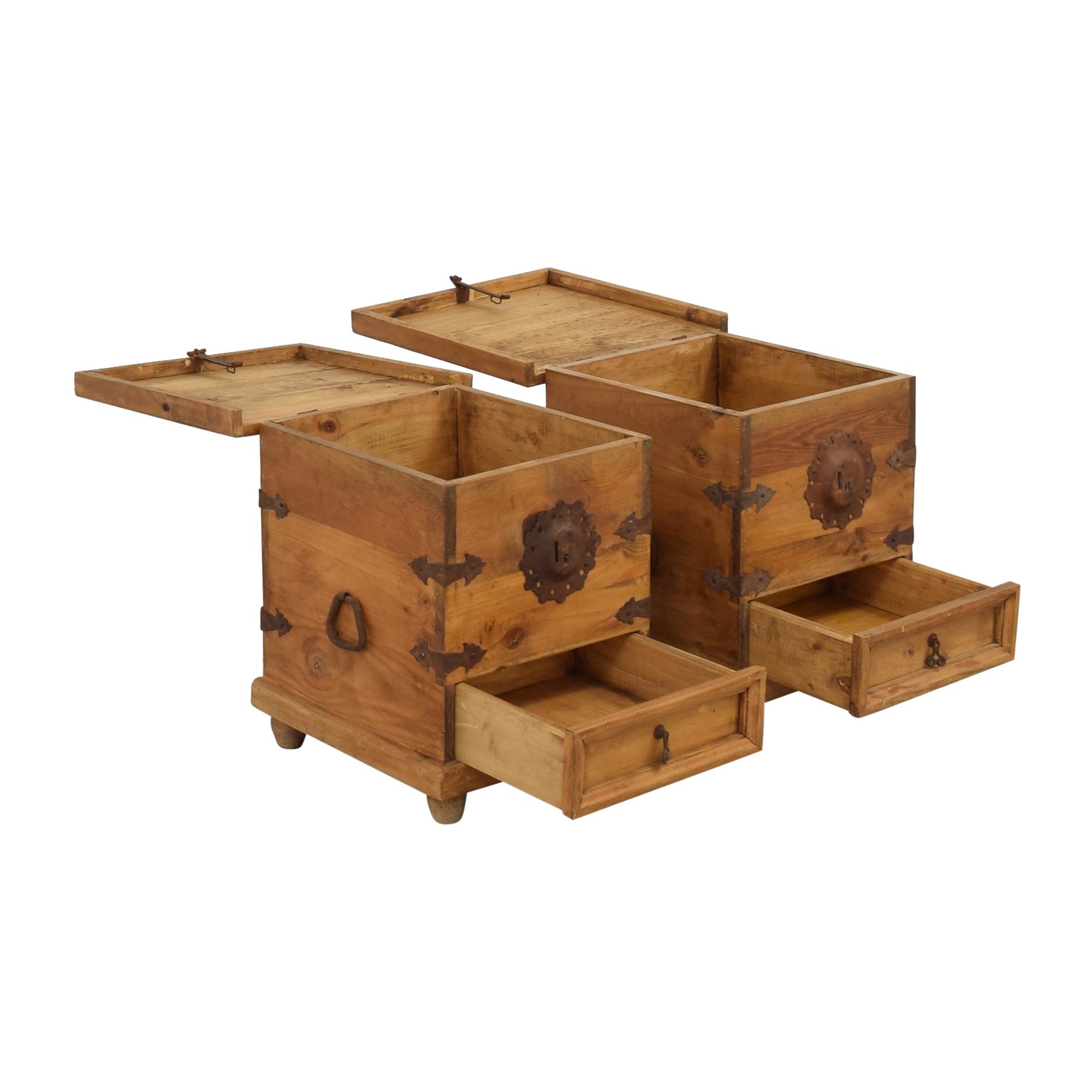 El Dorado Furniture El Dorado End Tables with Storage pa