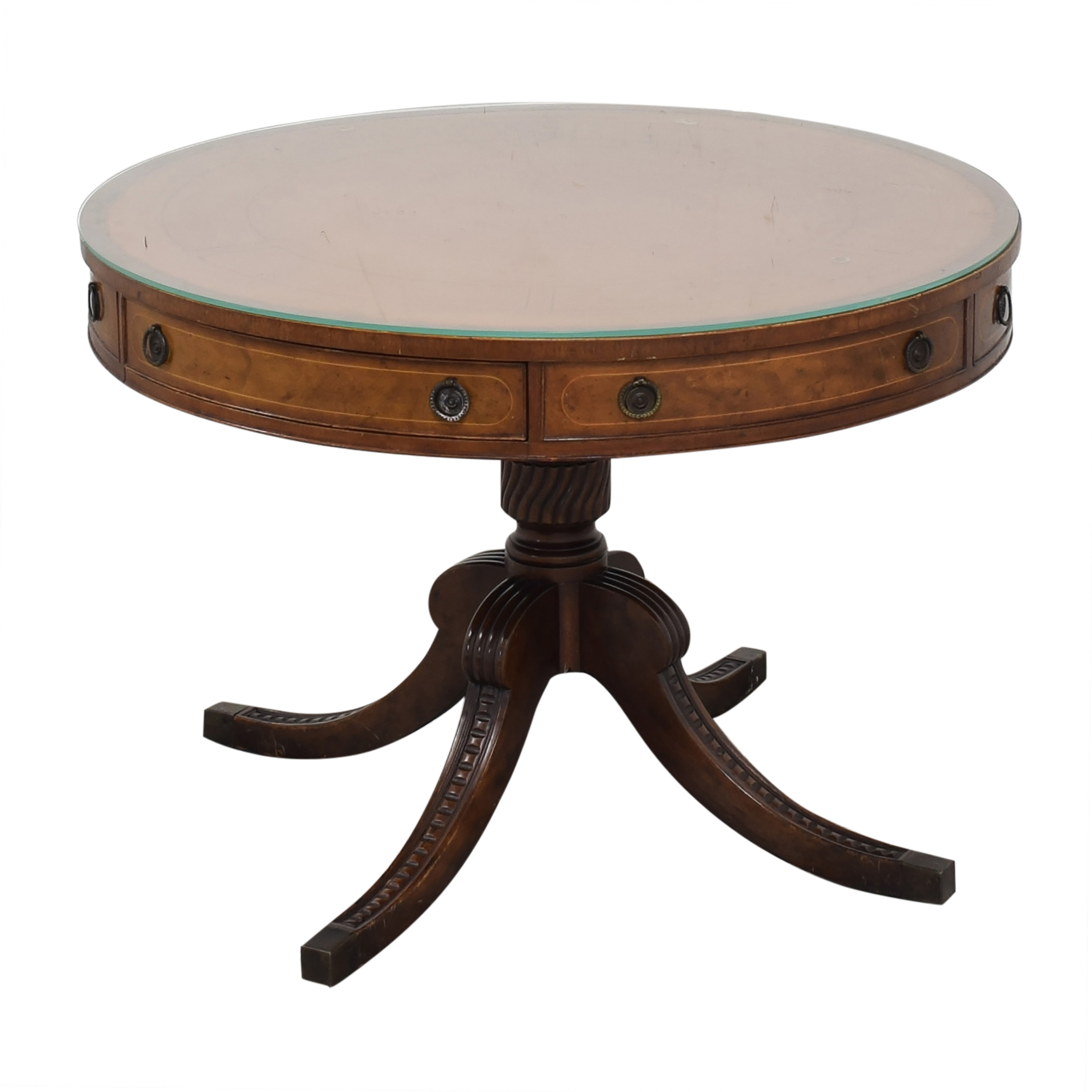 buy Round Regency Style Drum Table  Tables