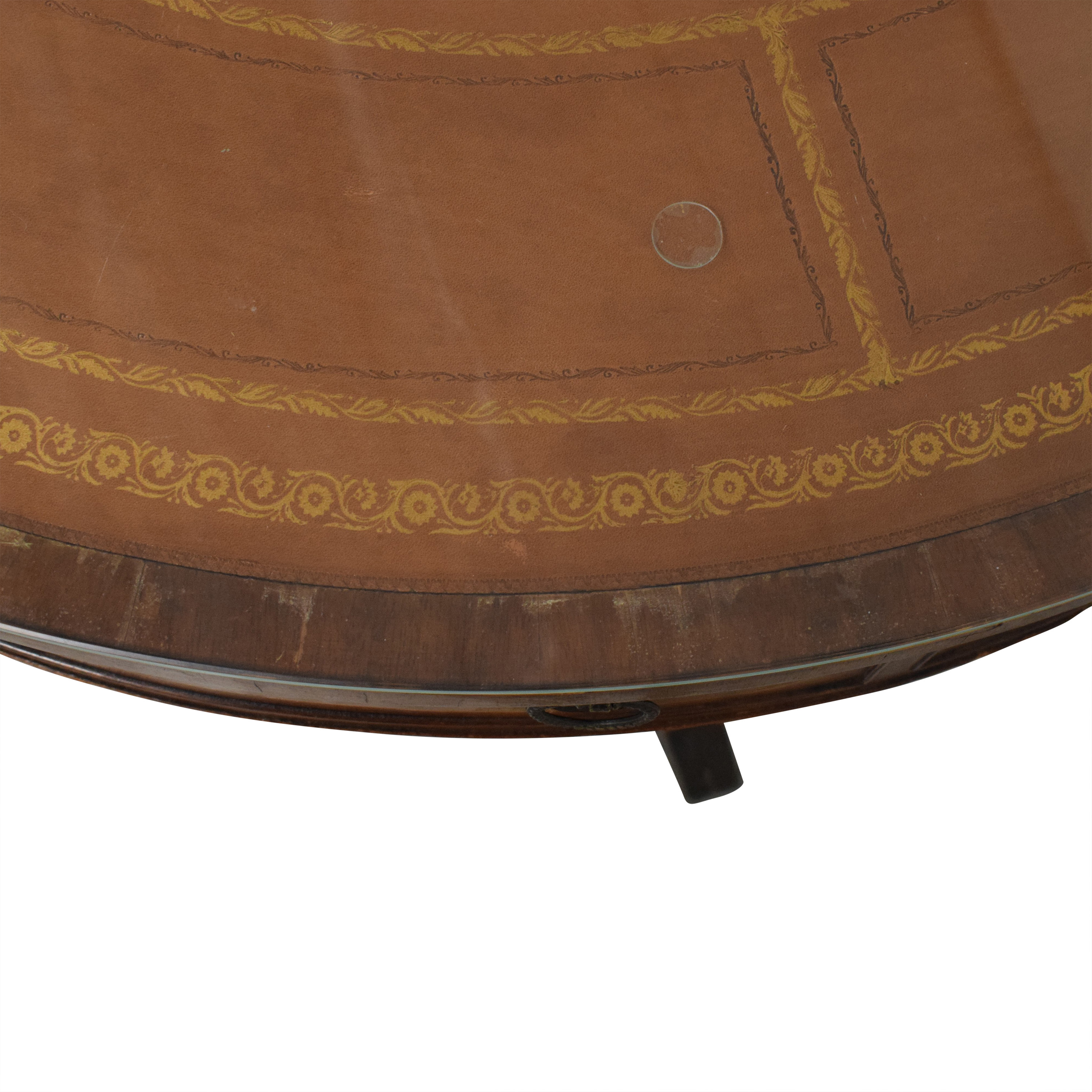 shop Round Regency Style Drum Table  Dinner Tables