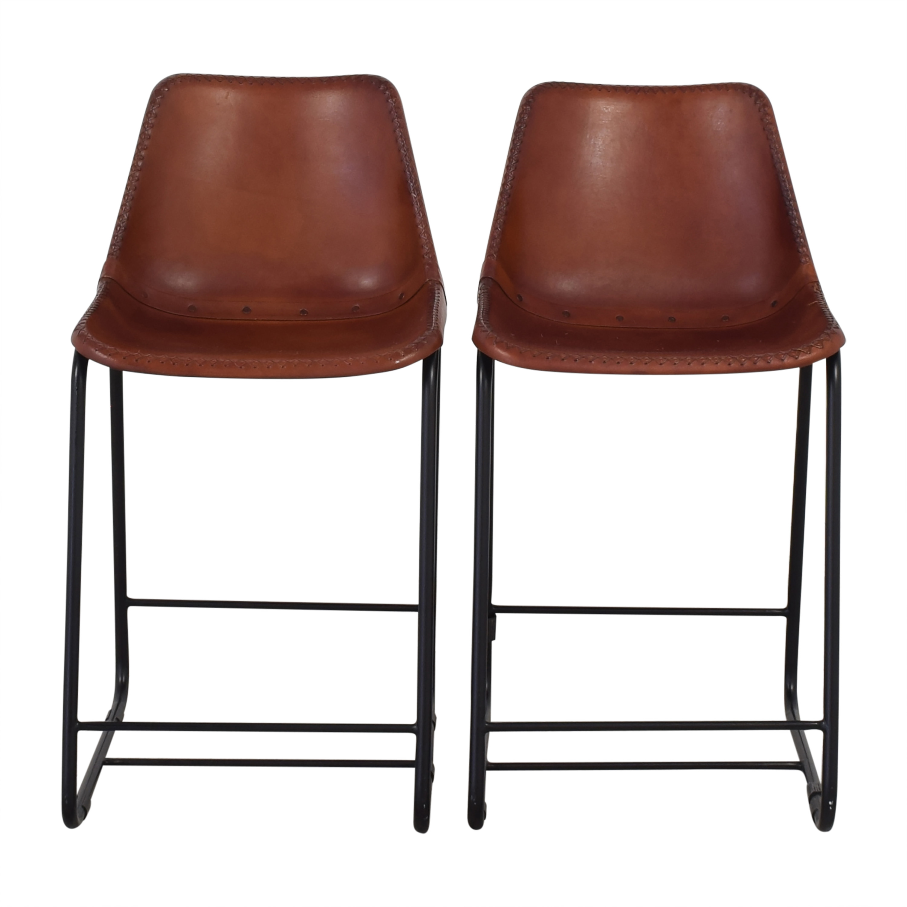 CB2 CB2 Roadhouse Counter Stools for sale
