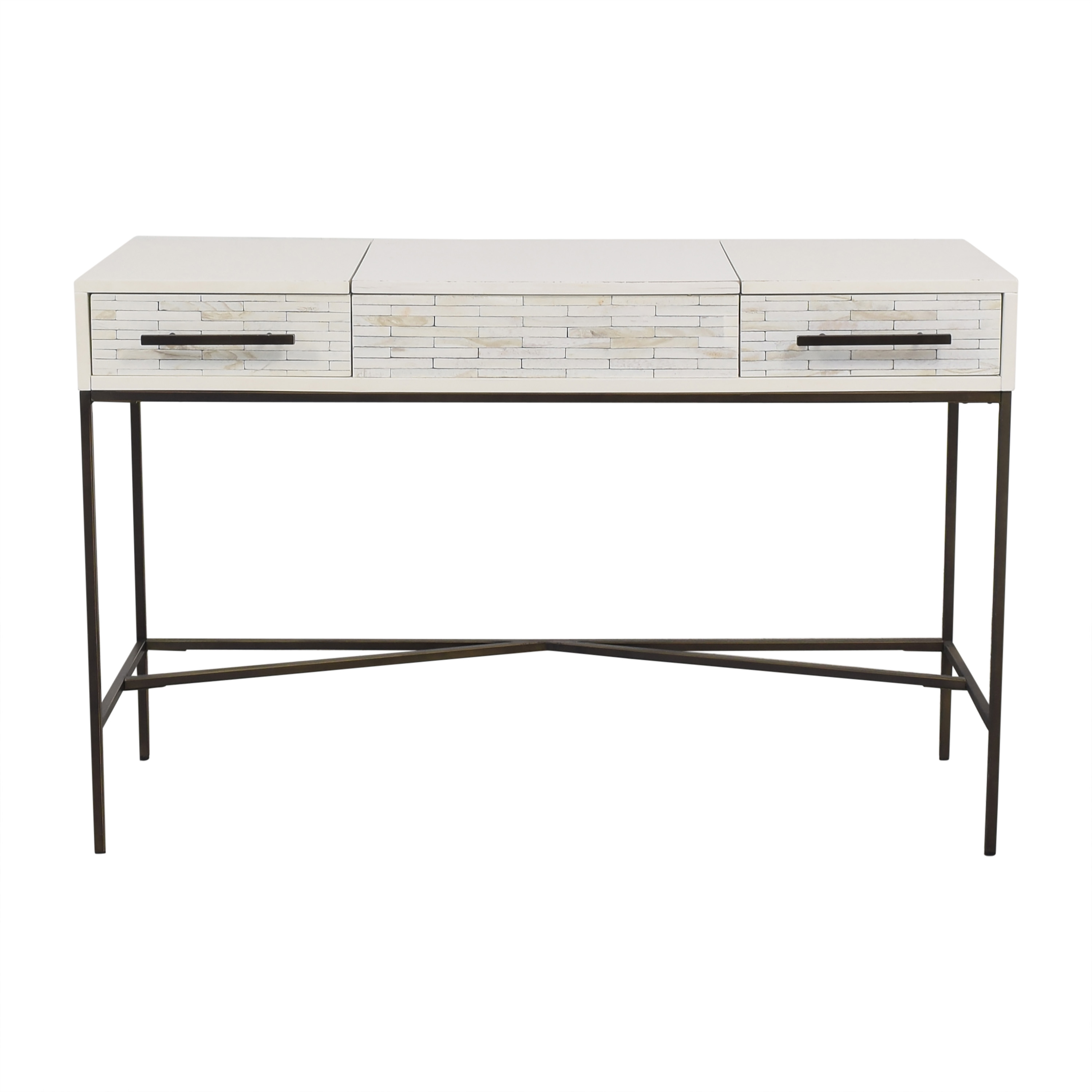 shop West Elm West Elm Wood Tiled Vanity online