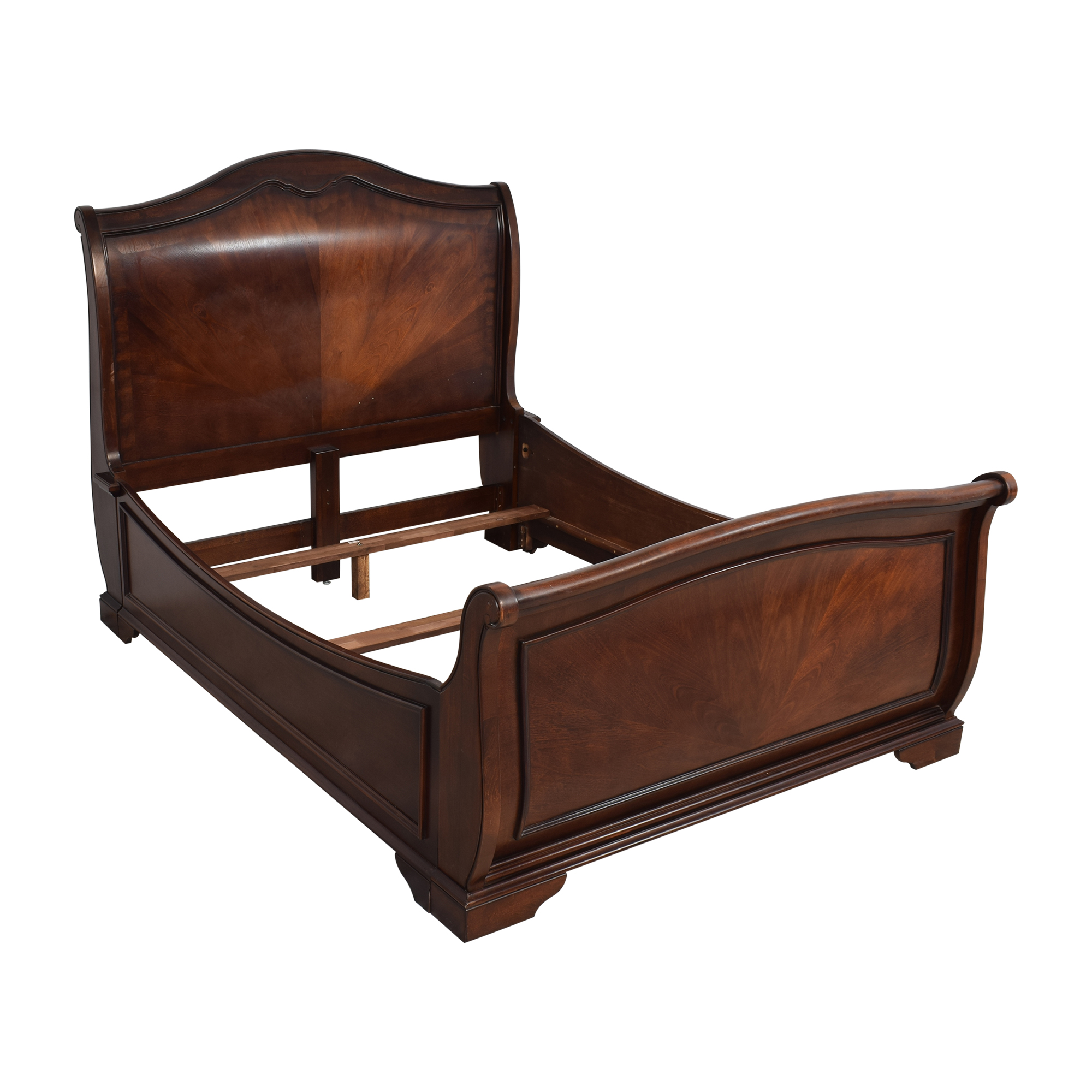 Raymour & Flanigan Raymour & Flanigan Queen Sleigh Bed nyc