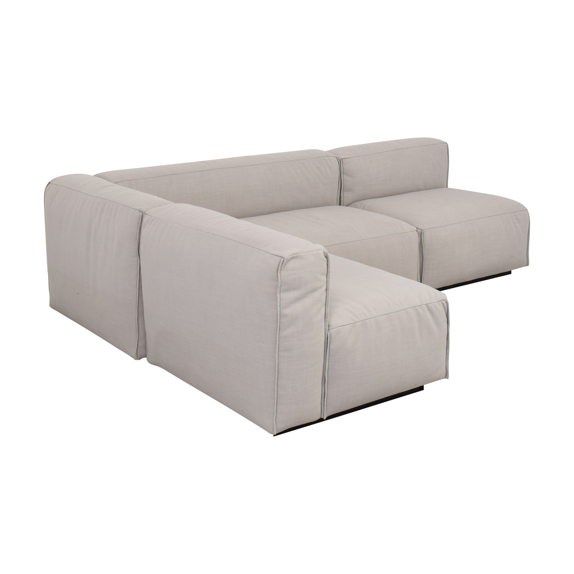Blu Dot Cleon Medium Sectional Sofa / Sofas