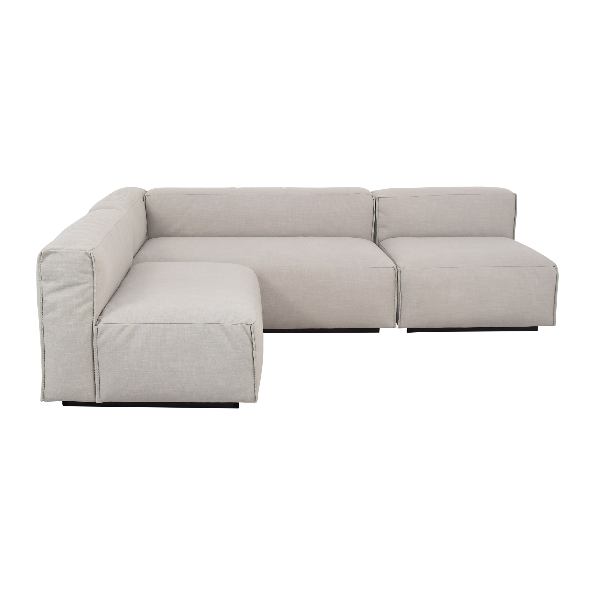 shop Blu Dot Cleon Medium Sectional Sofa Blu Dot Sofas