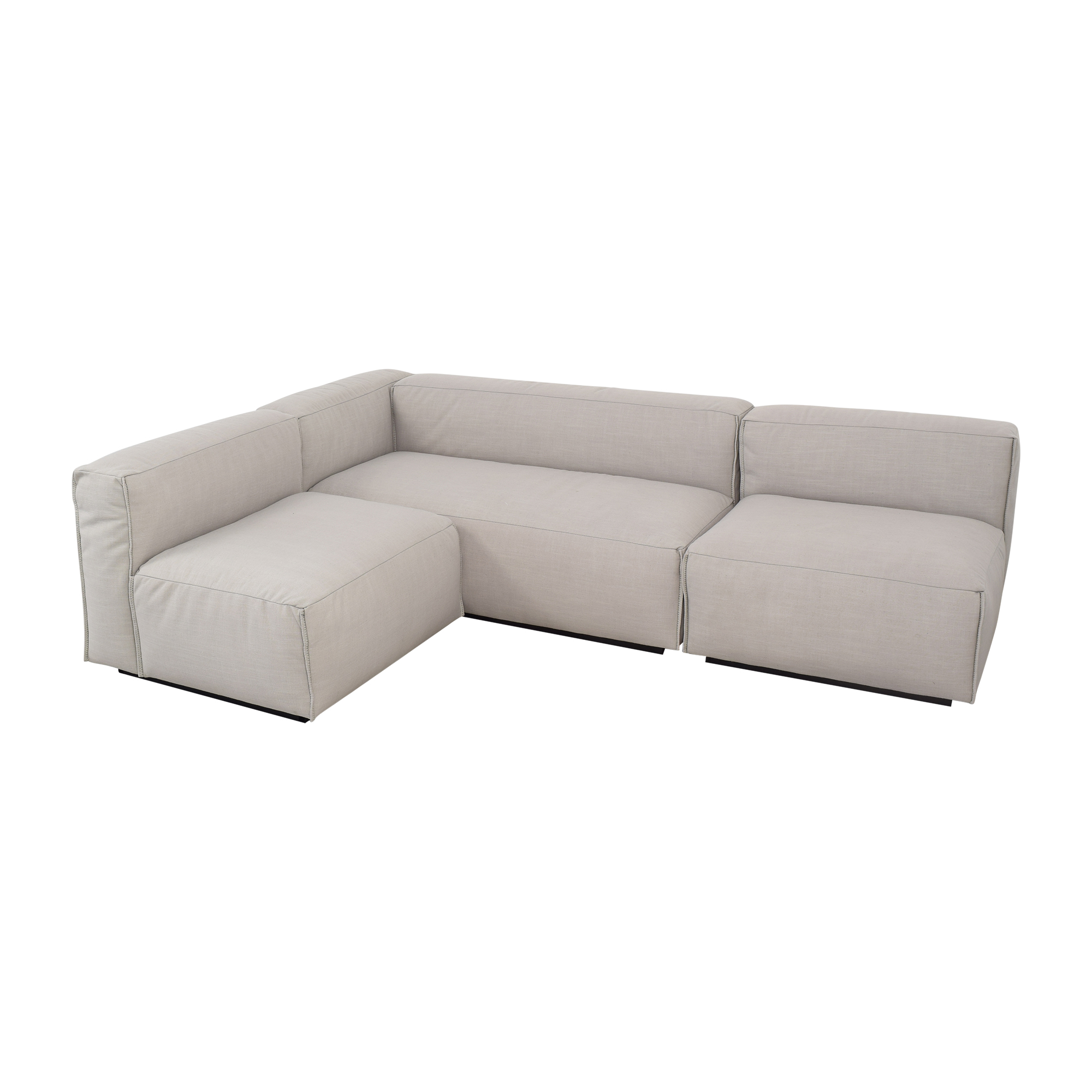 Blu Dot Cleon Medium Sectional Sofa Blu Dot