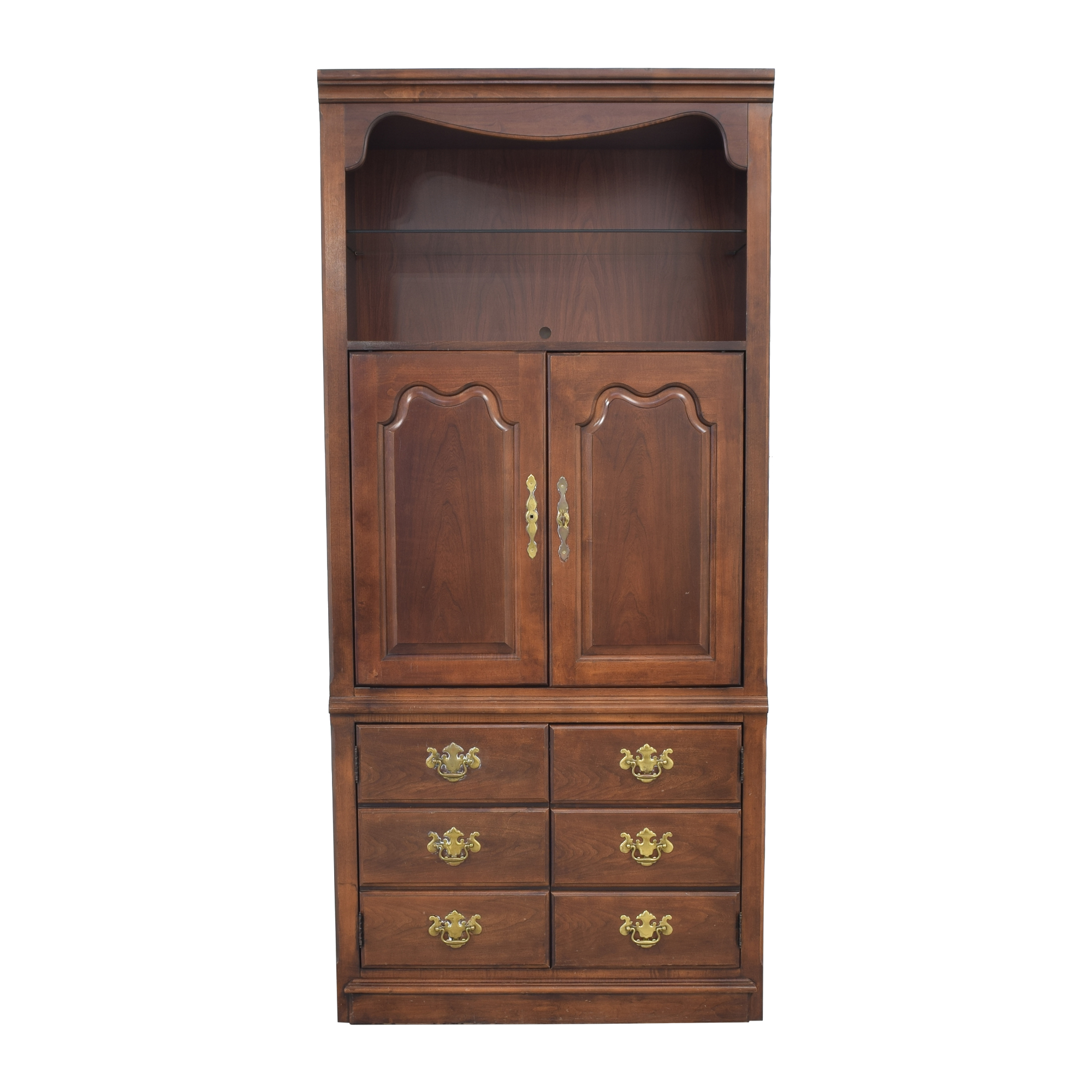 buy Ethan Allen Cherry Entertainment Armoire Ethan Allen Wardrobes & Armoires