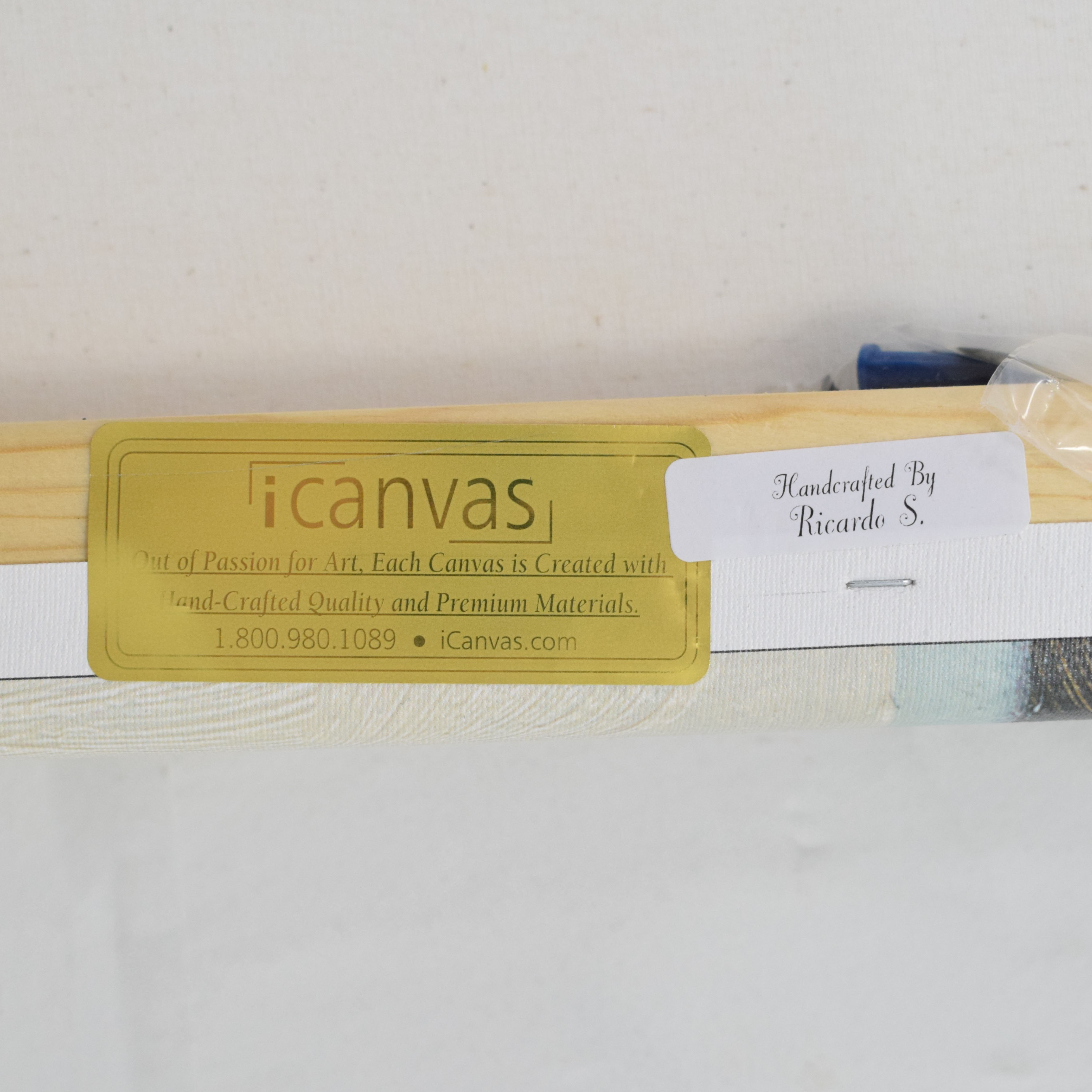 iCanvas iCanvas Sea Glass Sandbar by Emma Scarvey