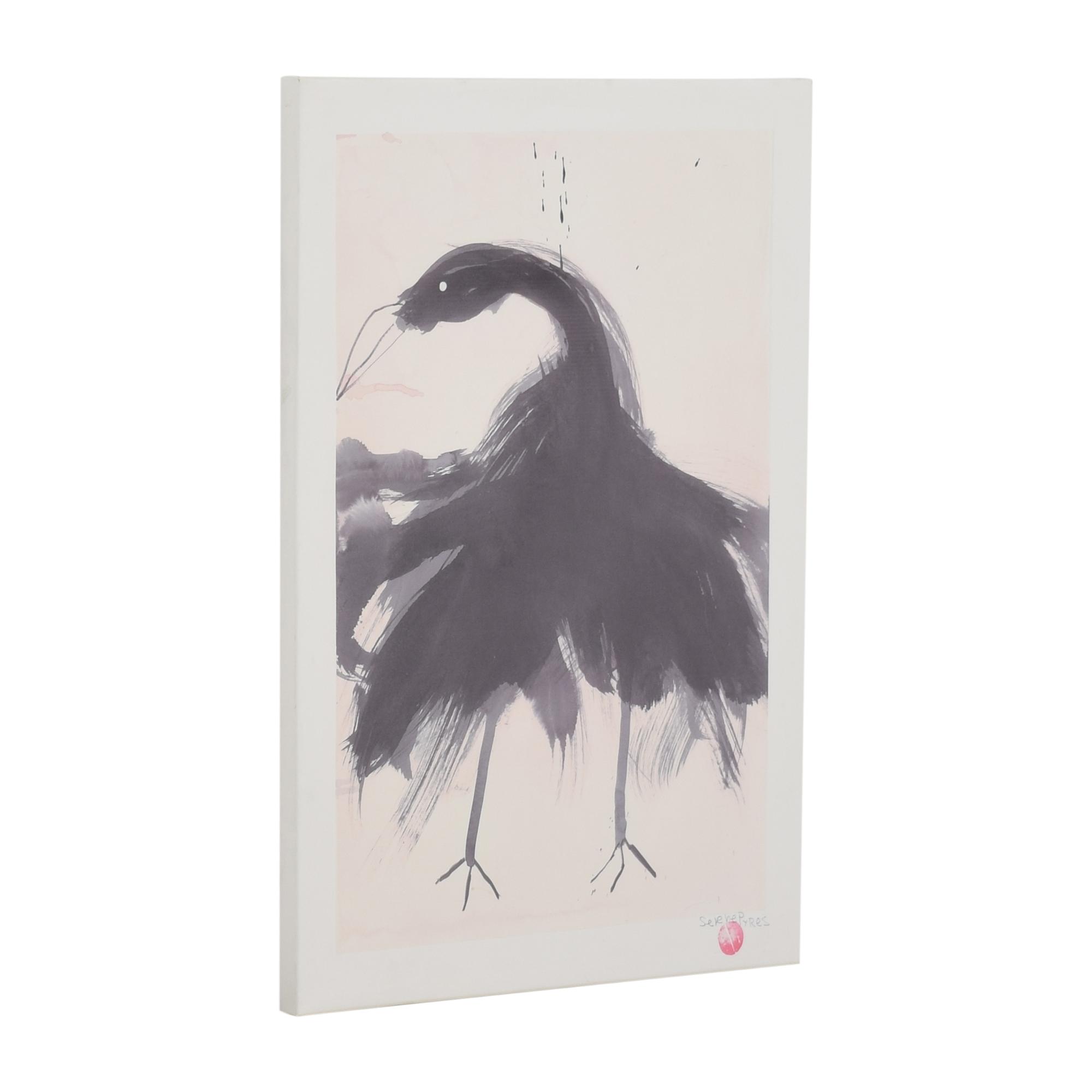 buy CB2 Black Swan by Selene Perez Print CB2