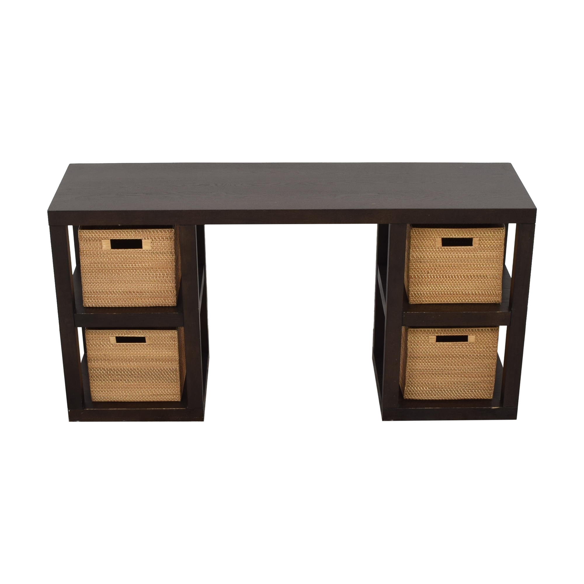 shop West Elm 2 x 2 Console Desk West Elm